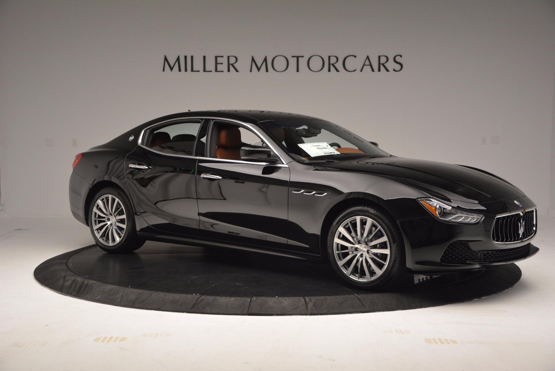 New 2017 Maserati Ghibli S Q4 EX-LOANER For Sale In Westport, CT 1115_p10
