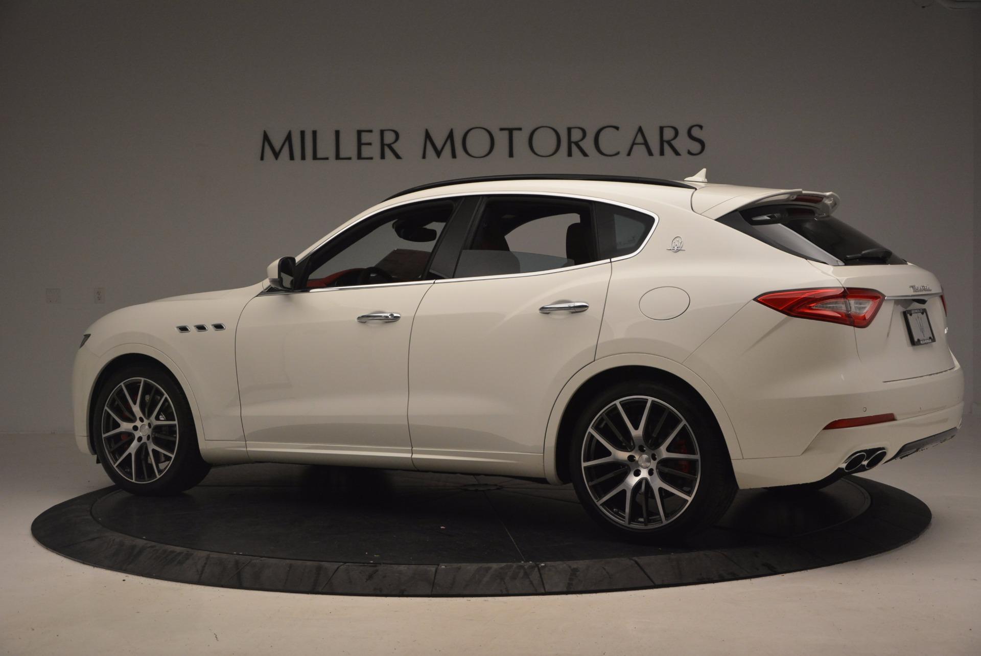 New 2017 Maserati Levante S For Sale In Westport, CT 1117_p4