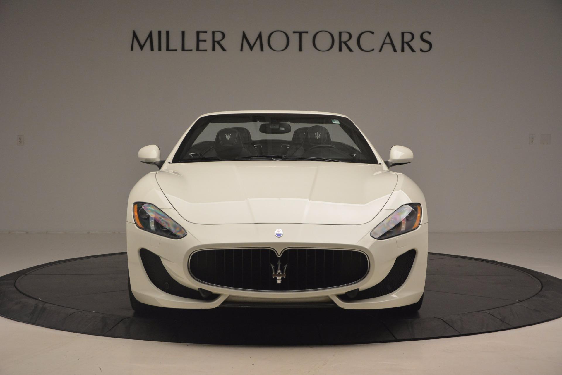 Used 2014 Maserati GranTurismo Sport For Sale In Westport, CT 1128_p23