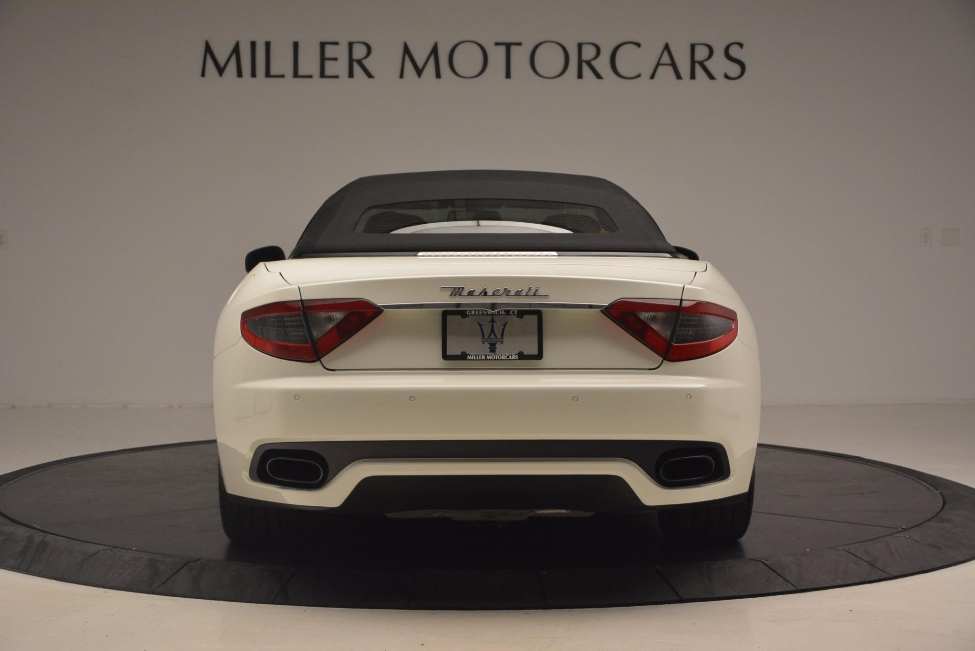 Used 2014 Maserati GranTurismo Sport For Sale In Westport, CT 1128_p34