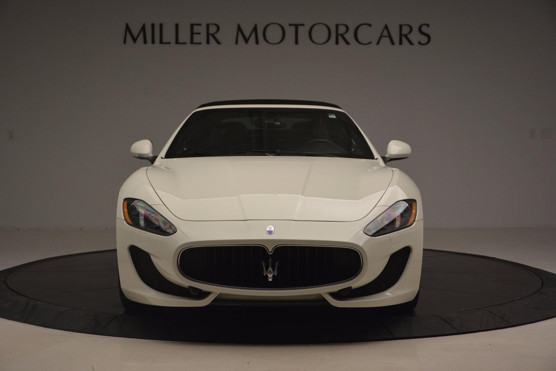 Used 2014 Maserati GranTurismo Sport For Sale In Westport, CT 1128_p42