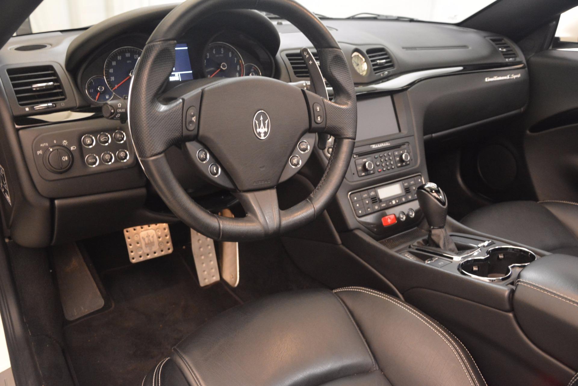 Used 2014 Maserati GranTurismo Sport For Sale In Westport, CT 1128_p43
