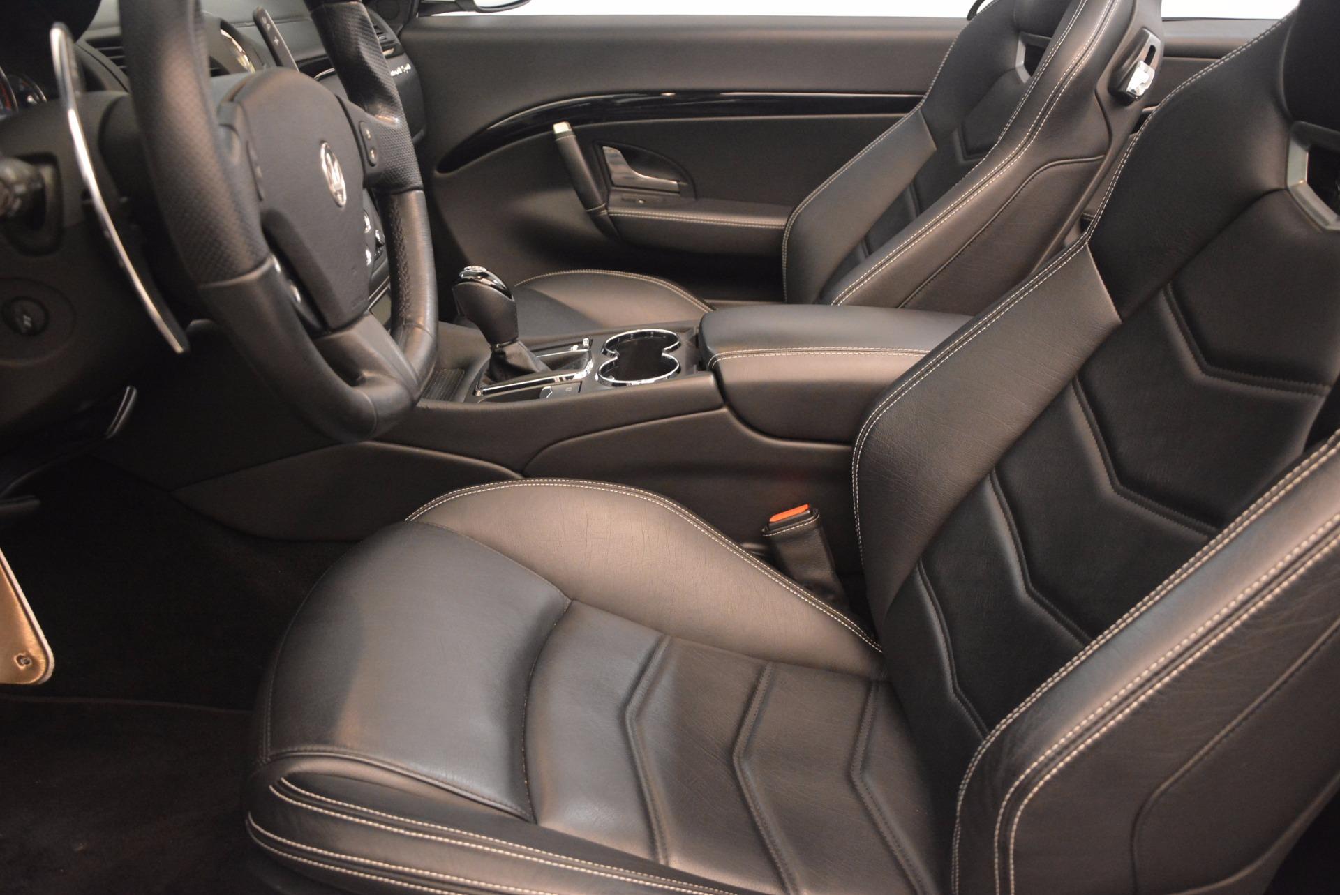 Used 2014 Maserati GranTurismo Sport For Sale In Westport, CT 1128_p44