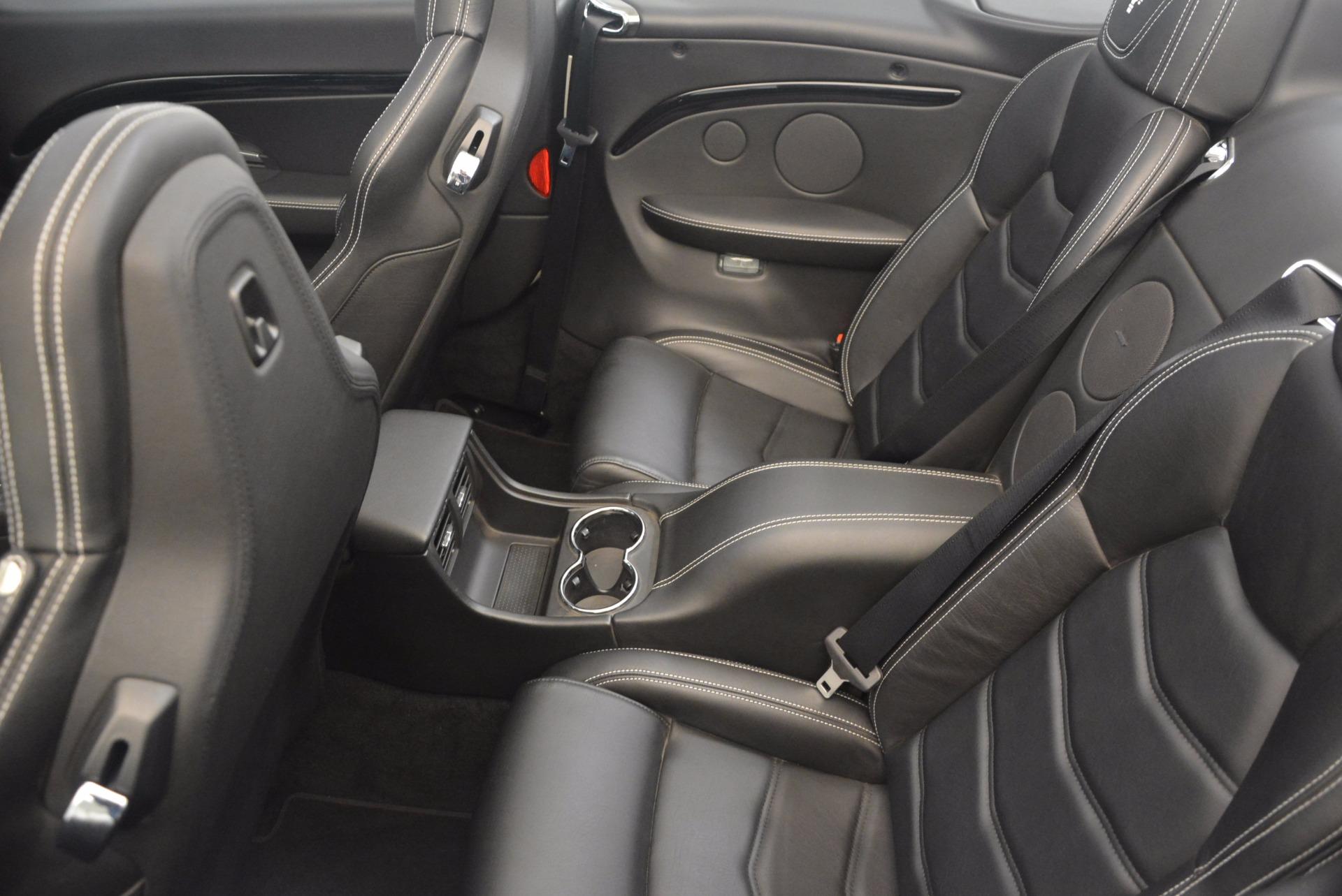 Used 2014 Maserati GranTurismo Sport For Sale In Westport, CT 1128_p47