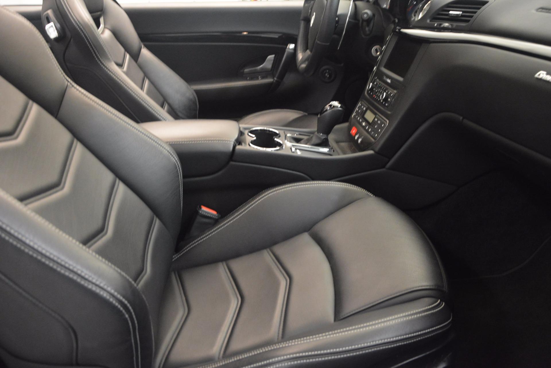 Used 2014 Maserati GranTurismo Sport For Sale In Westport, CT 1128_p50