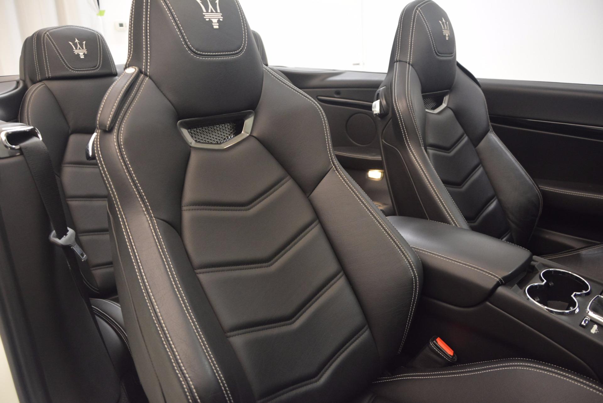 Used 2014 Maserati GranTurismo Sport For Sale In Westport, CT 1128_p51