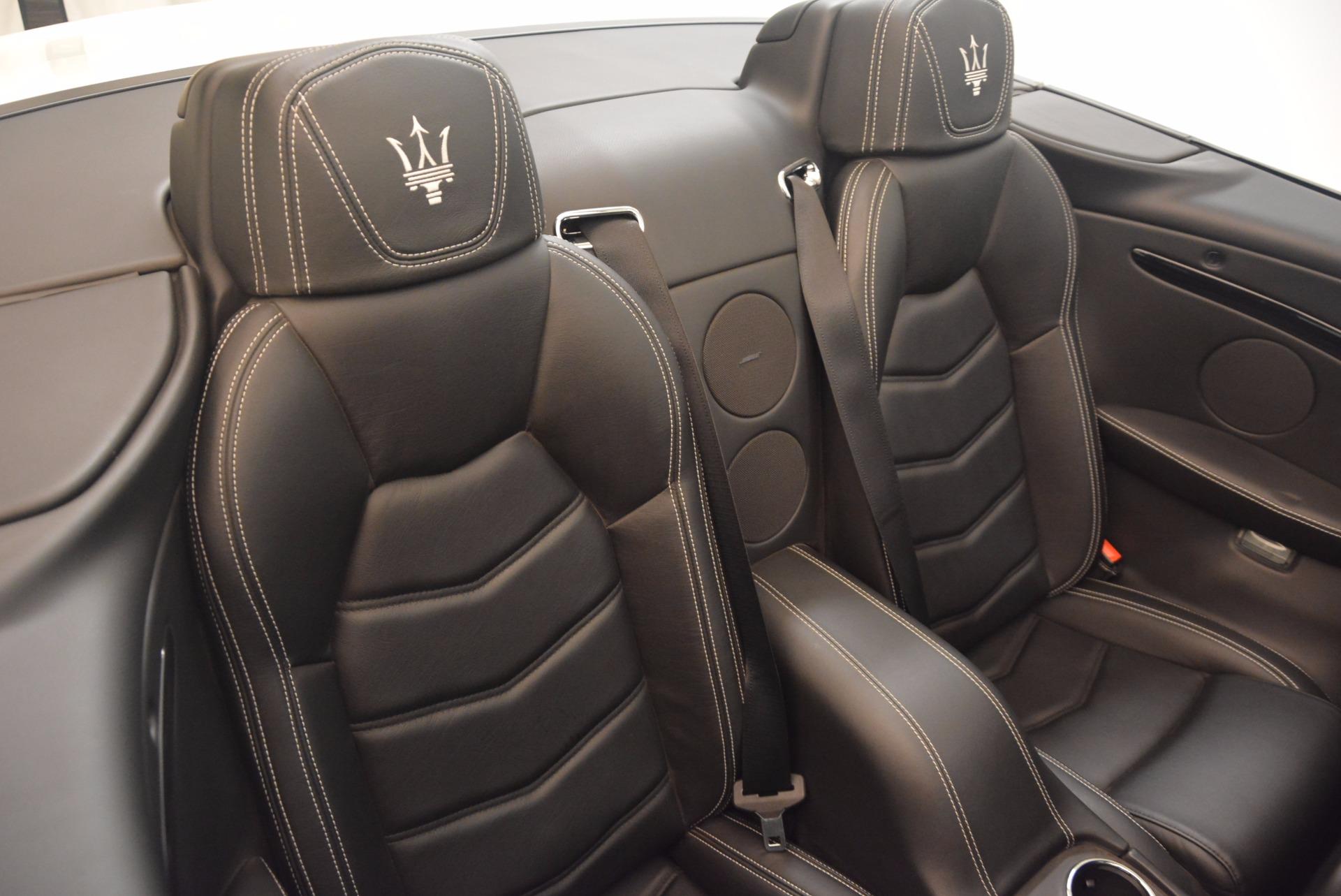 Used 2014 Maserati GranTurismo Sport For Sale In Westport, CT 1128_p54
