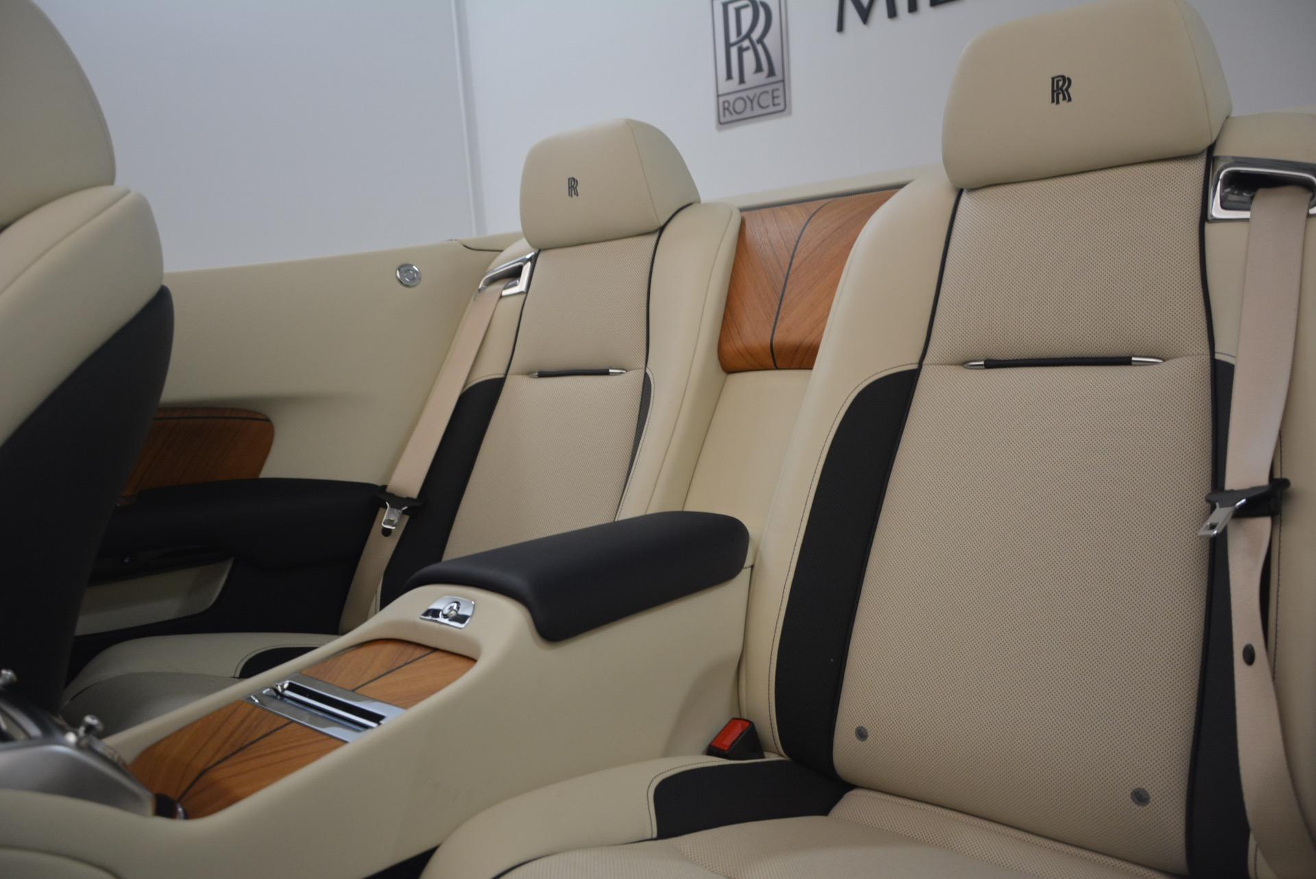 Used 2017 Rolls-Royce Dawn  For Sale In Westport, CT 1138_p34