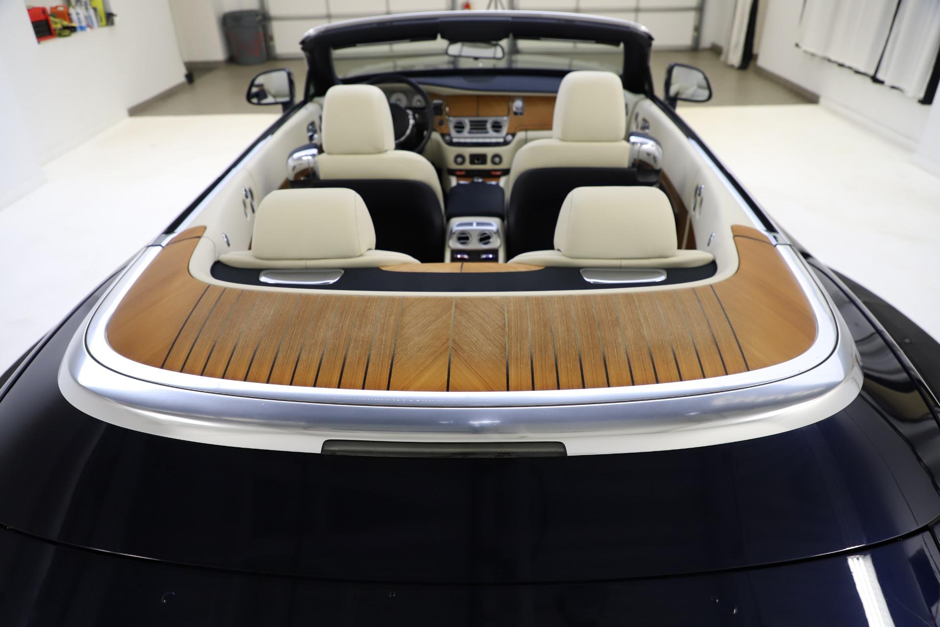 Used 2017 Rolls-Royce Dawn  For Sale In Westport, CT 1138_p48