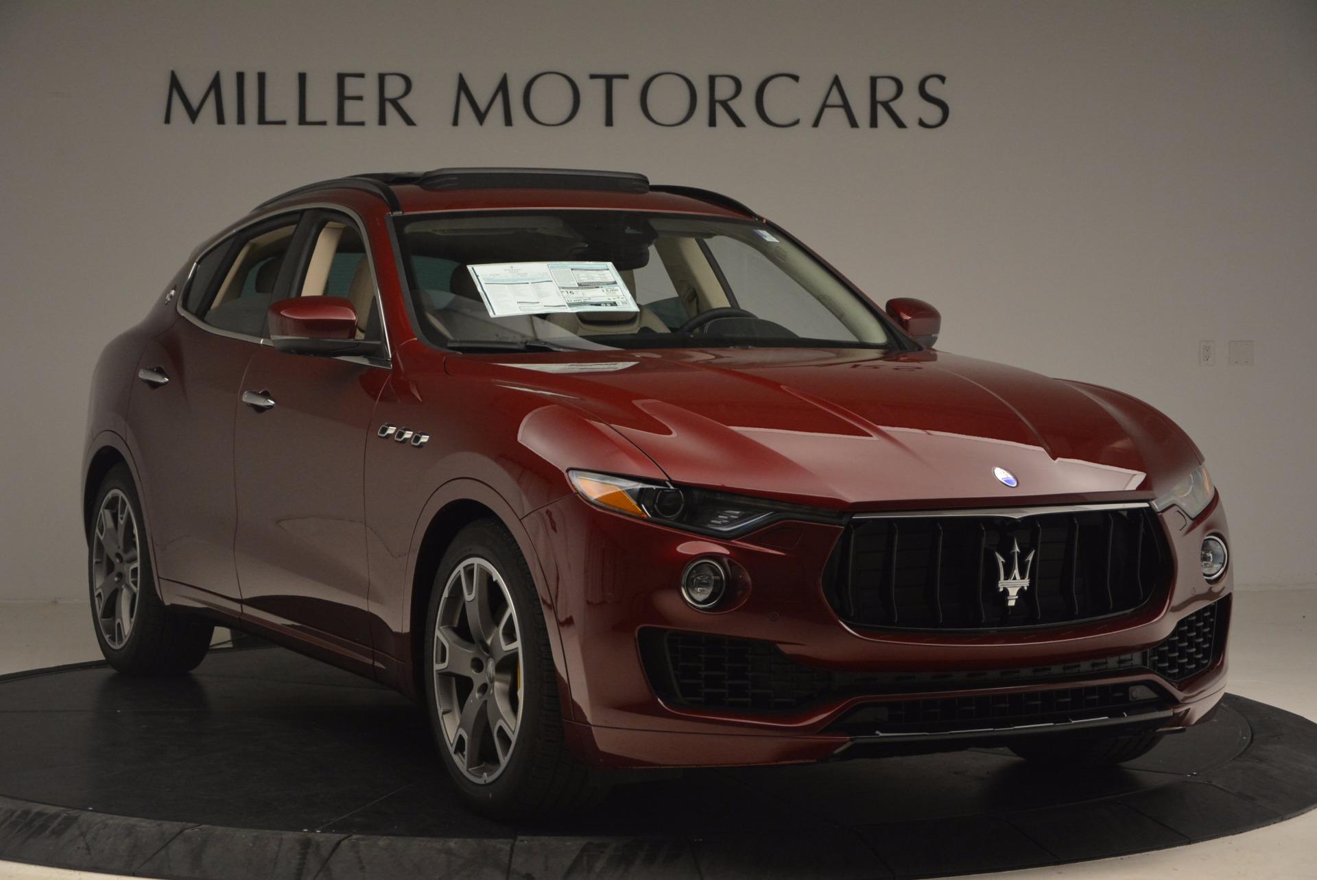 New 2017 Maserati Levante  For Sale In Westport, CT 1144_p12