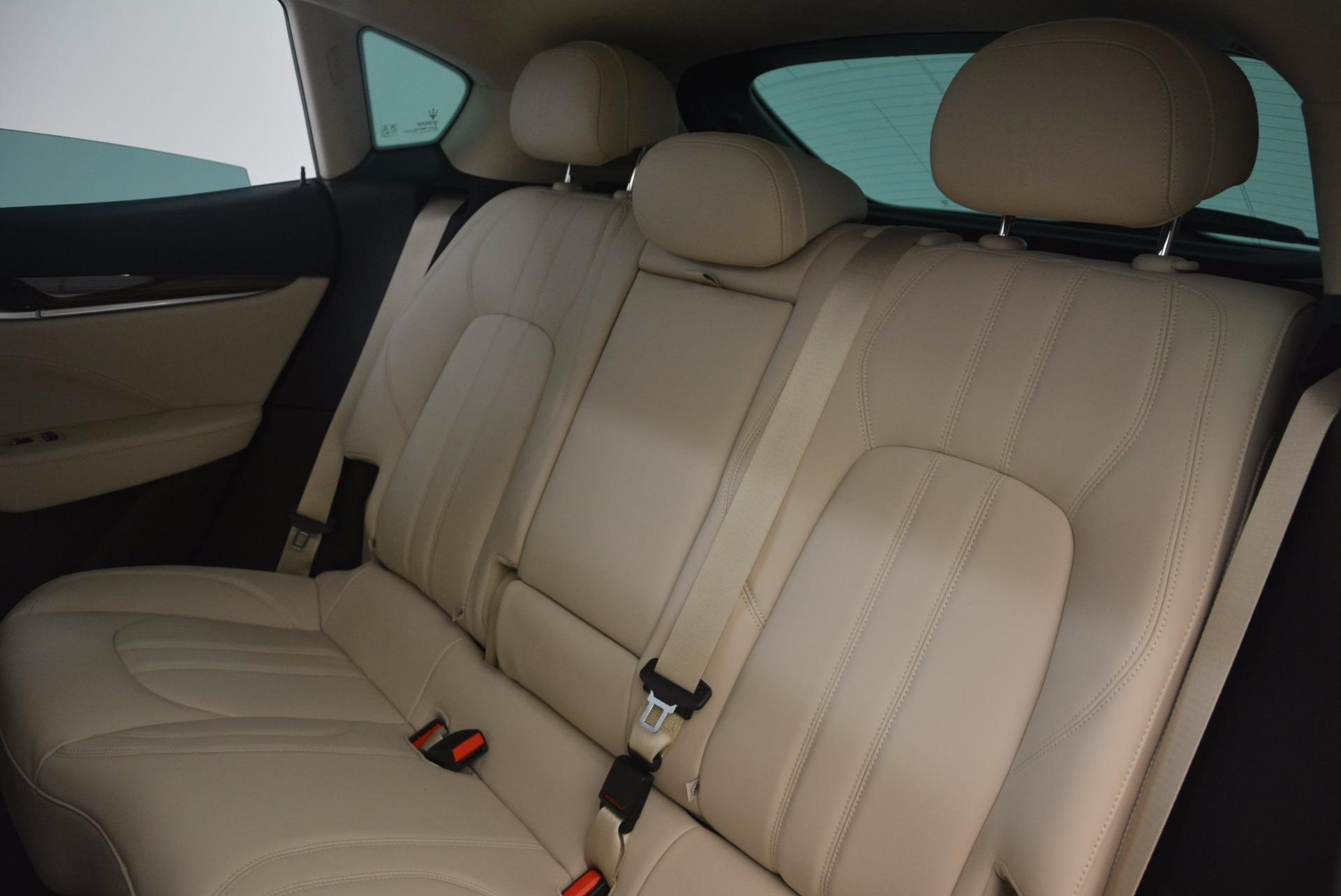 New 2017 Maserati Levante  For Sale In Westport, CT 1144_p19
