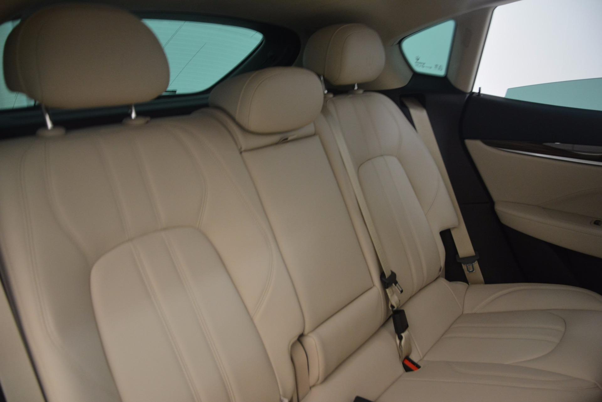 New 2017 Maserati Levante  For Sale In Westport, CT 1144_p24