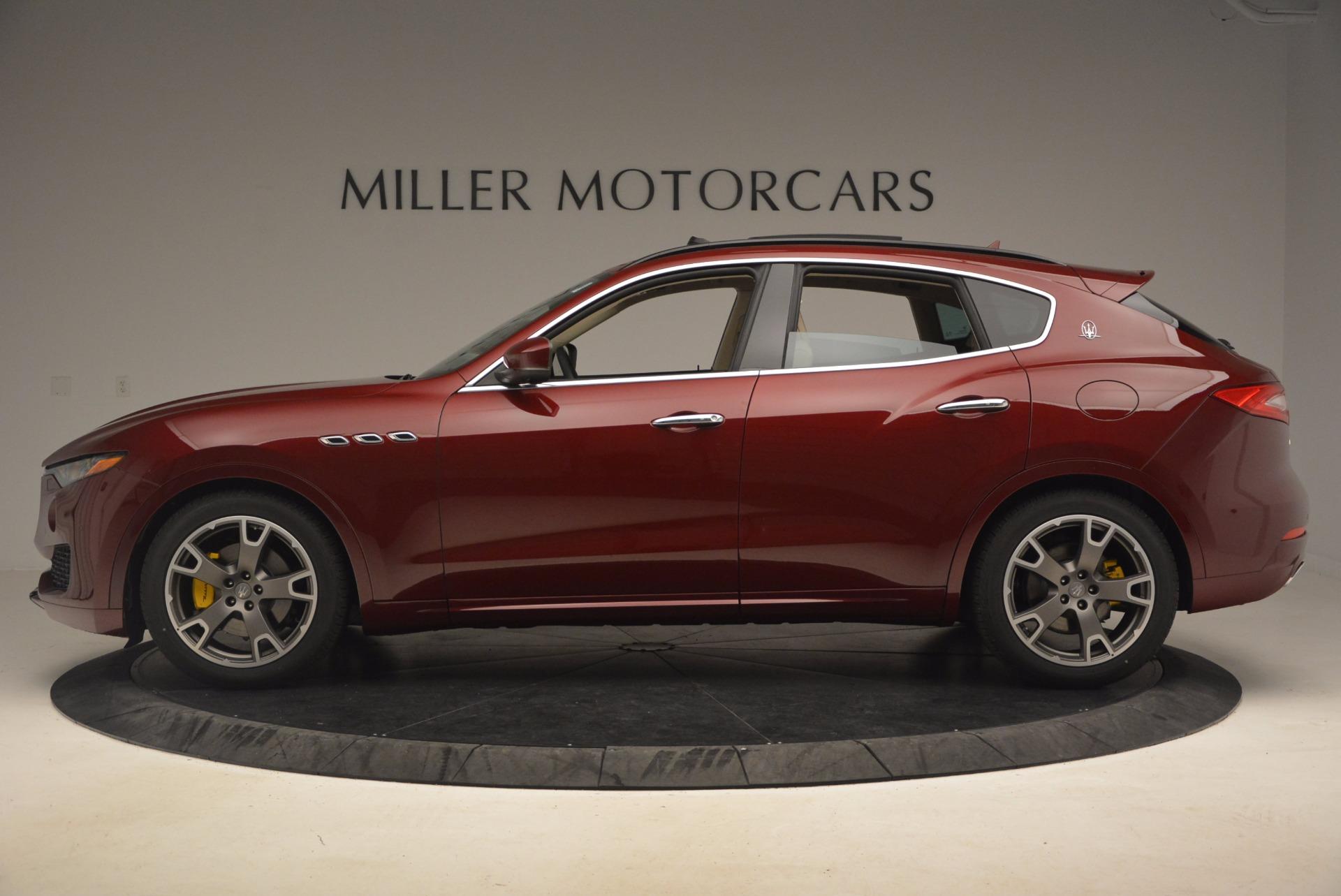 New 2017 Maserati Levante  For Sale In Westport, CT 1144_p4