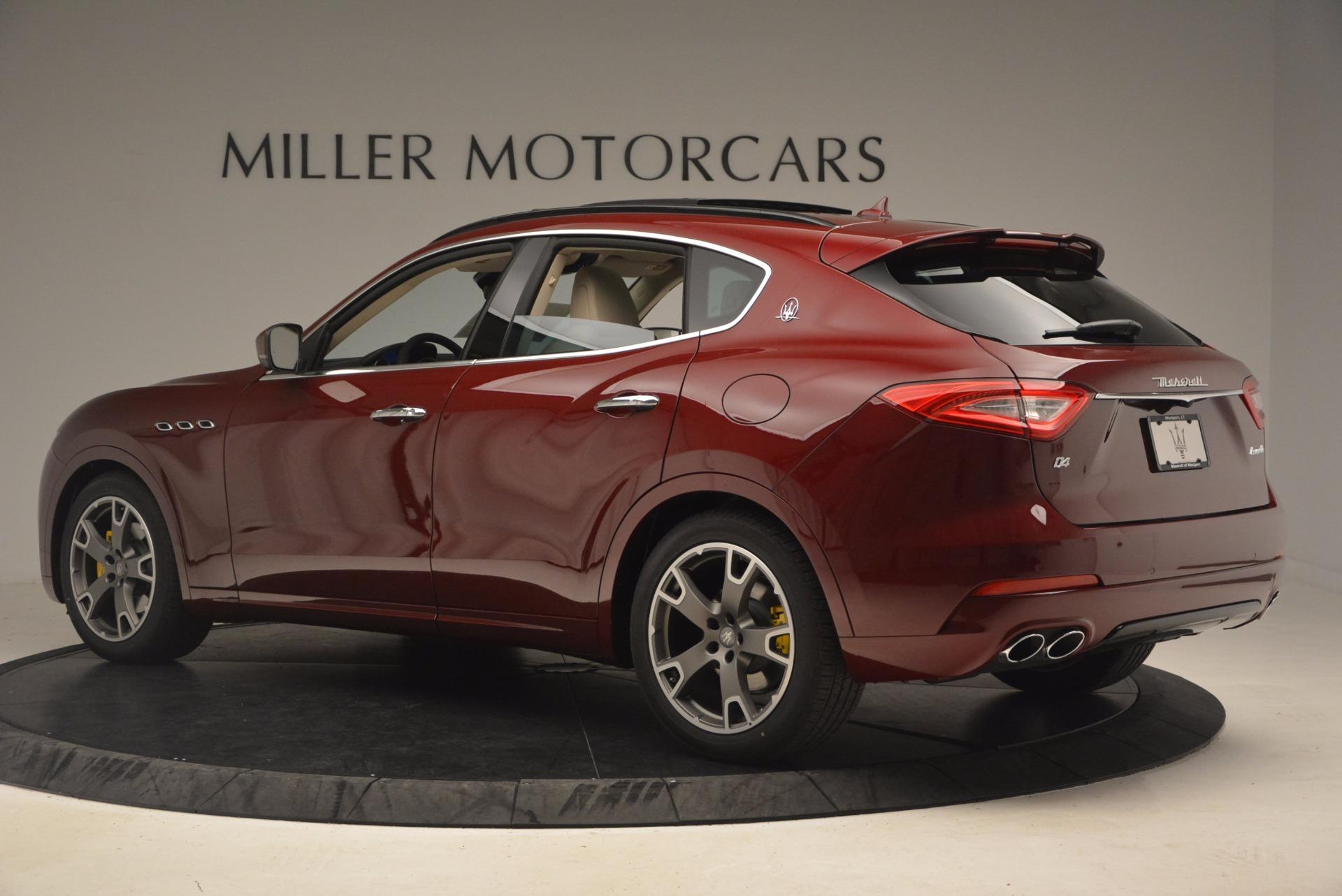 New 2017 Maserati Levante  For Sale In Westport, CT 1144_p5