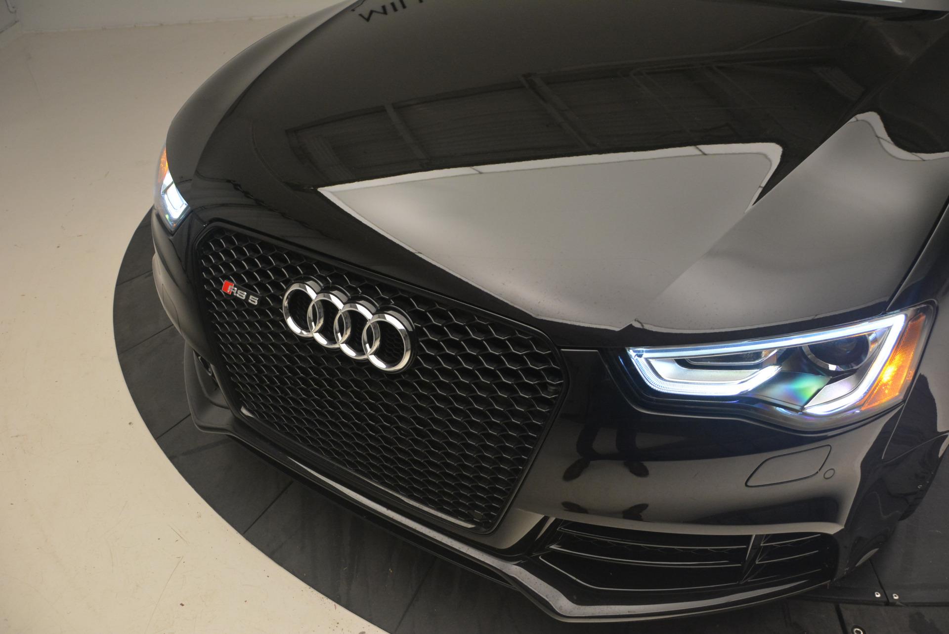 Used 2014 Audi RS 5 quattro For Sale In Westport, CT 1149_p25