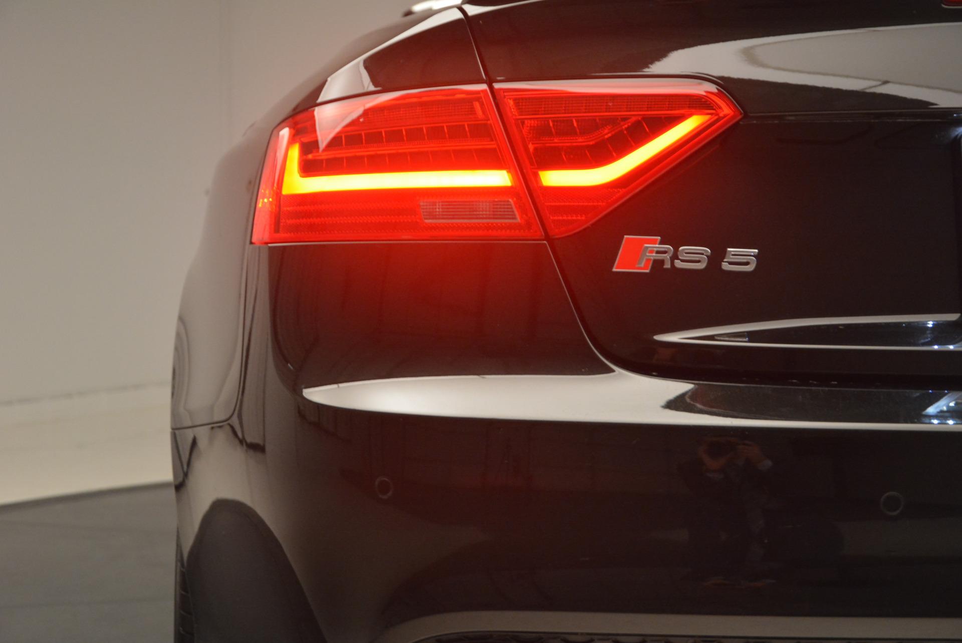 Used 2014 Audi RS 5 quattro For Sale In Westport, CT 1149_p26