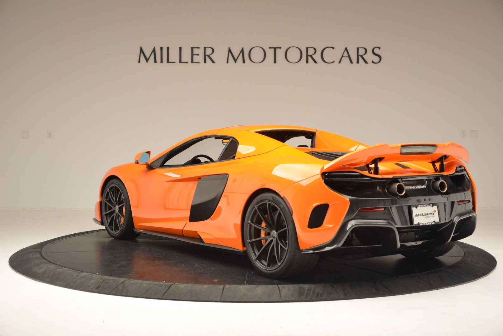 Used 2016 McLaren 675LT Spider Convertible For Sale In Westport, CT 1150_p16