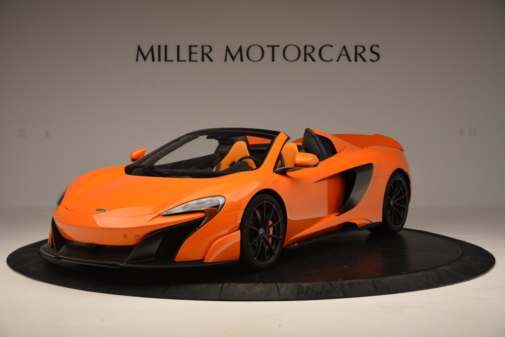 Used 2016 McLaren 675LT Spider Convertible For Sale In Westport, CT 1150_p2