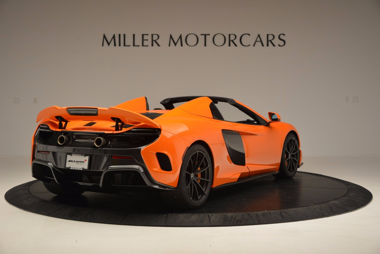 Used 2016 McLaren 675LT Spider Convertible For Sale In Westport, CT 1150_p7