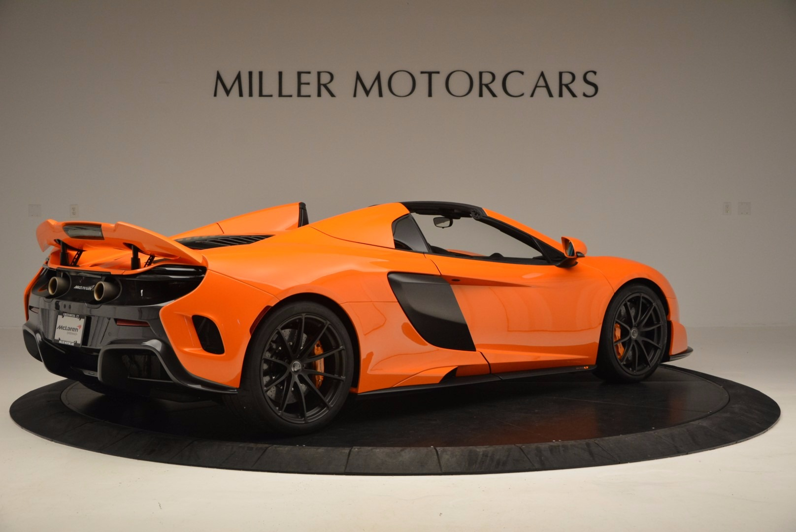 Used 2016 McLaren 675LT Spider Convertible For Sale In Westport, CT 1150_p8