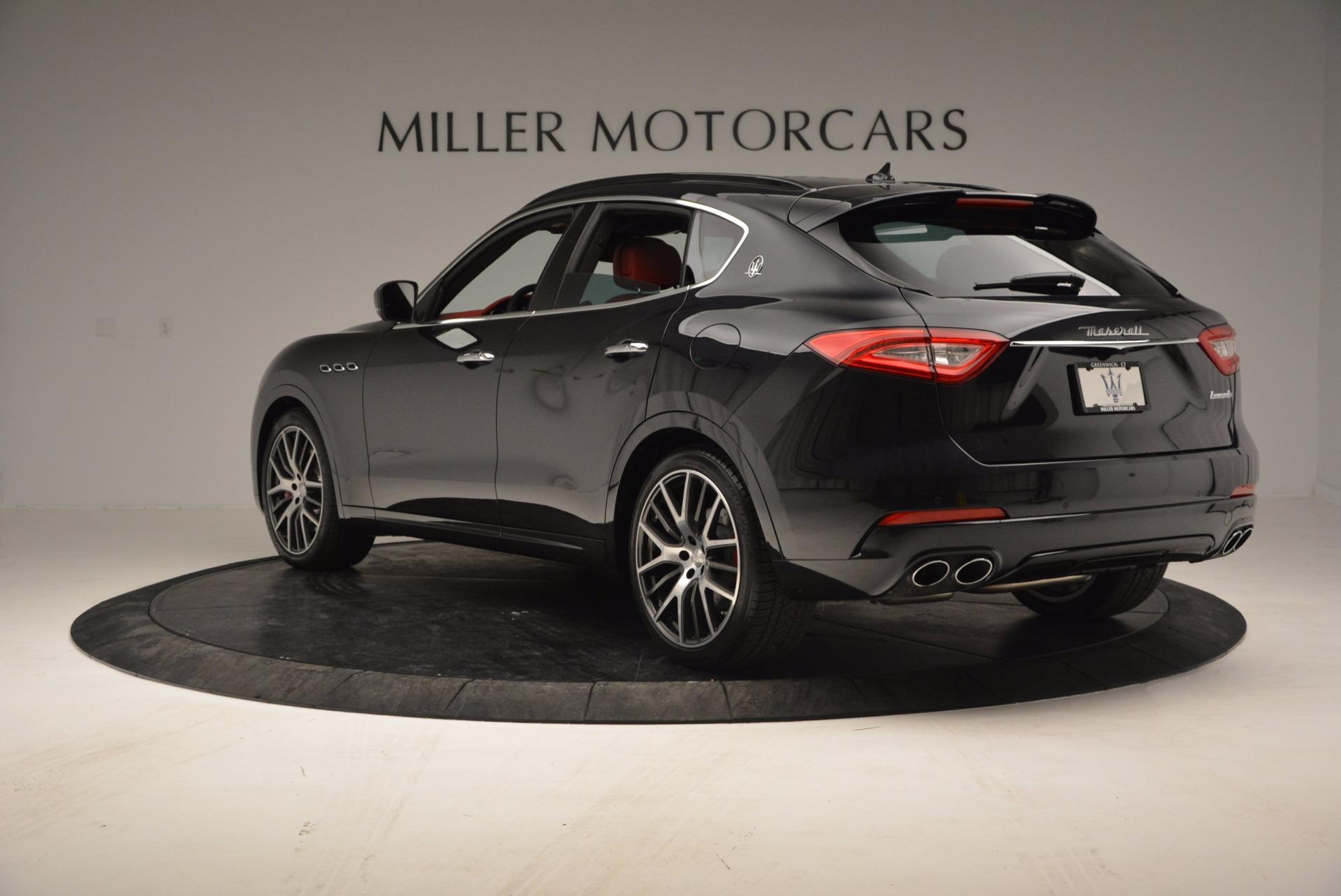 New 2017 Maserati Levante S For Sale In Westport, CT 1156_p5