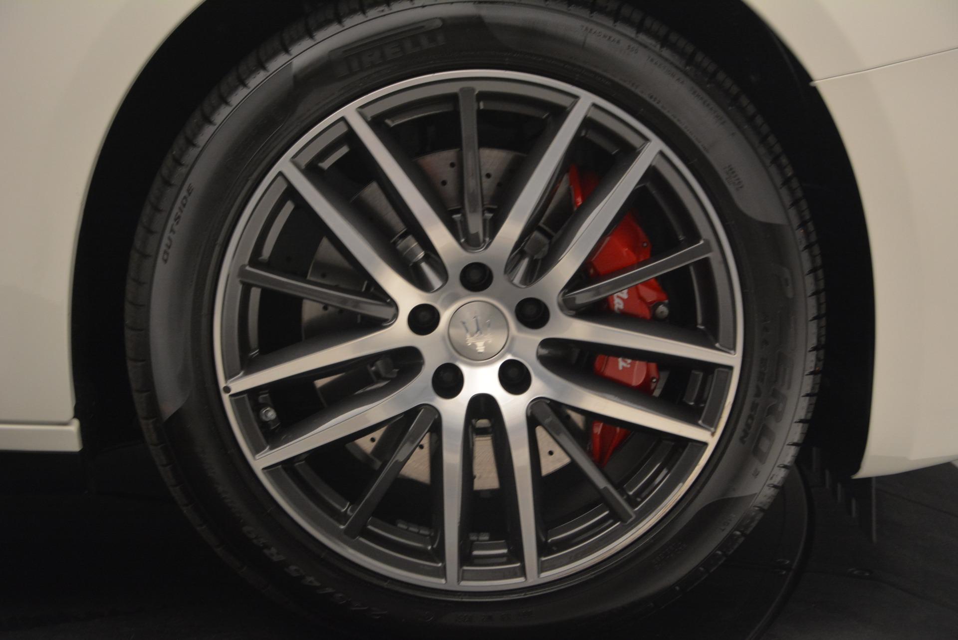 New 2017 Maserati Ghibli S Q4 For Sale In Westport, CT 1164_p13