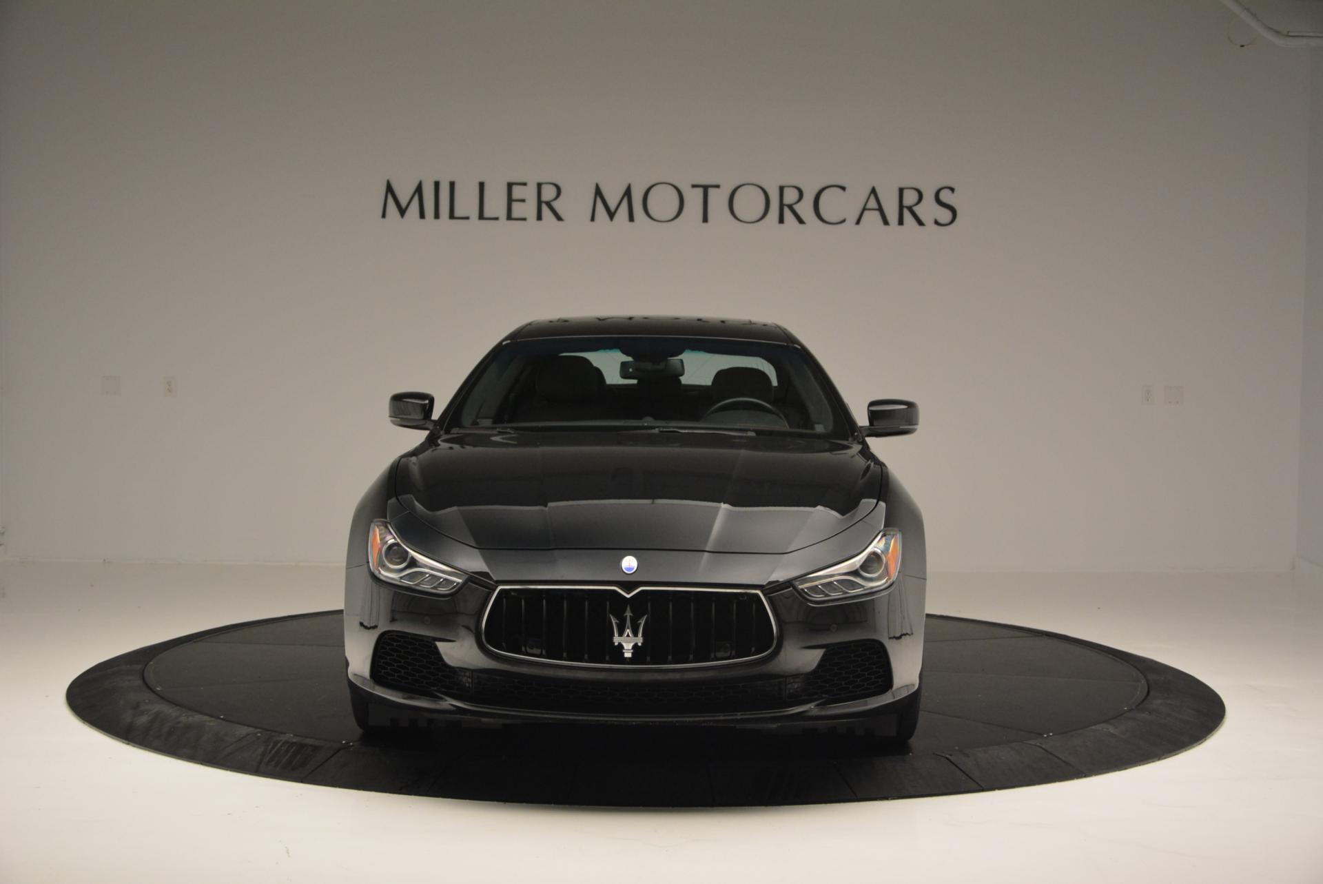 Used 2015 Maserati Ghibli S Q4 For Sale In Westport, CT 117_p11