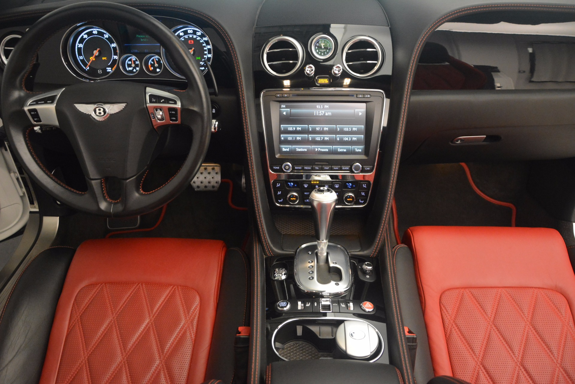 Used 2013 Bentley Continental GT V8 For Sale In Westport, CT 1174_p52