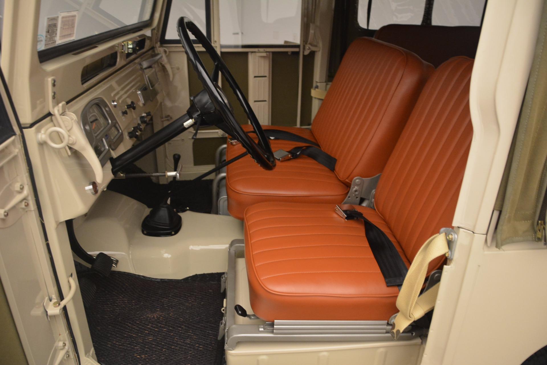 Used 1966 Toyota FJ40 Land Cruiser Land Cruiser For Sale In Westport, CT 1179_p16