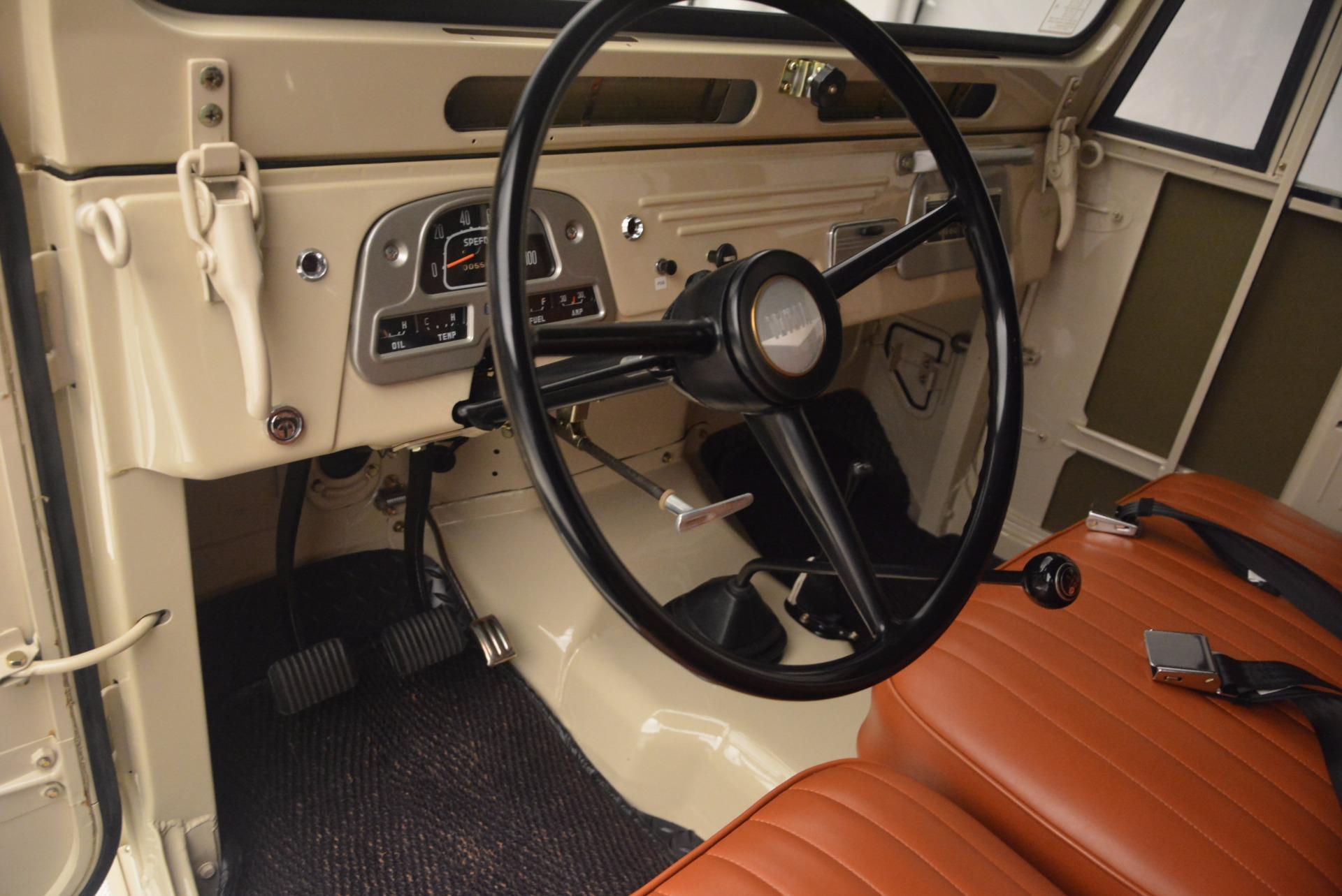 Used 1966 Toyota FJ40 Land Cruiser Land Cruiser For Sale In Westport, CT 1179_p17