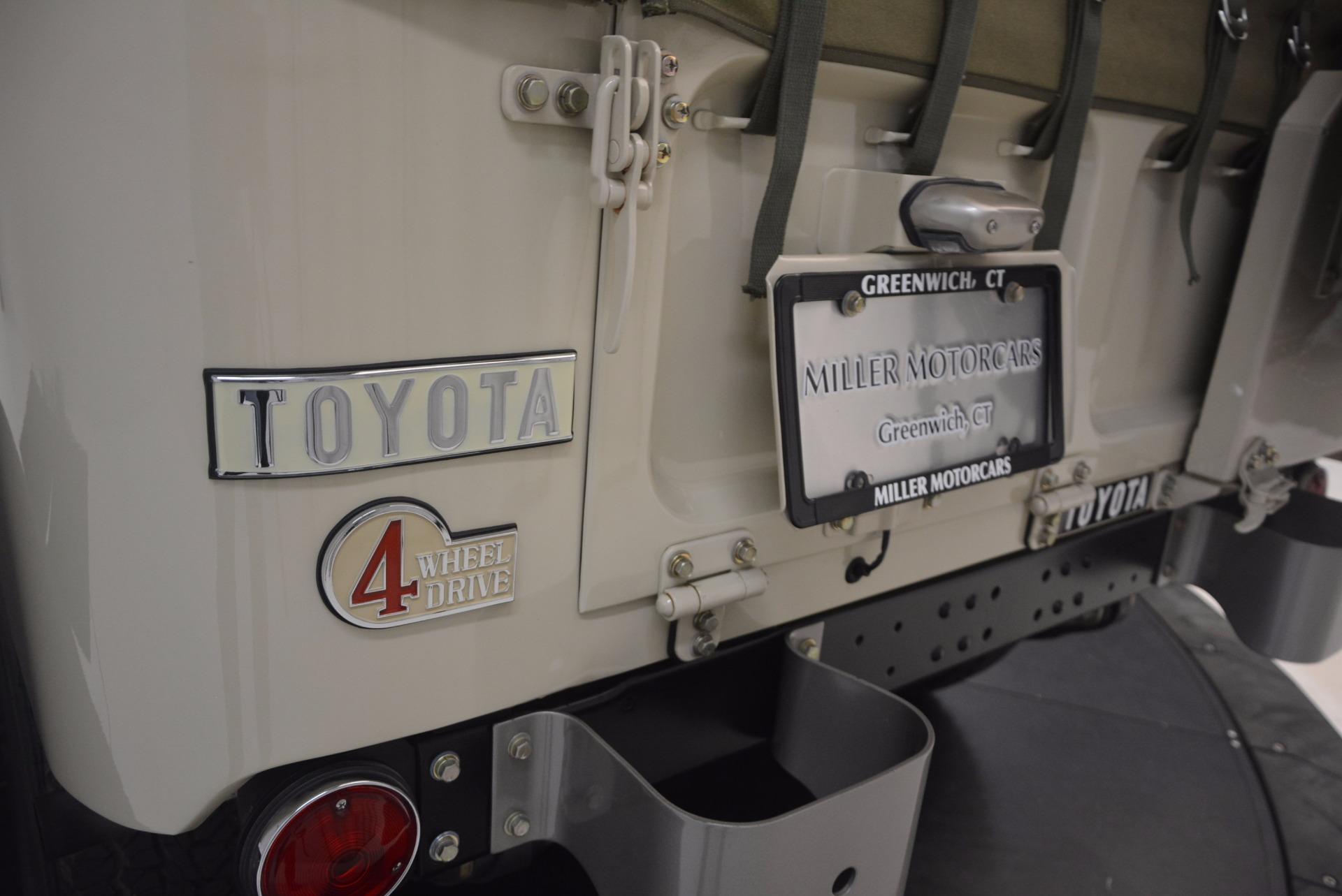 Used 1966 Toyota FJ40 Land Cruiser Land Cruiser For Sale In Westport, CT 1179_p34