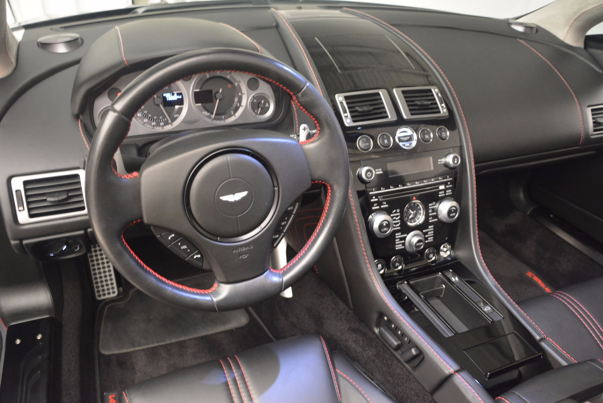 Used 2012 Aston Martin V8 Vantage S Roadster For Sale In Westport, CT 1181_p26