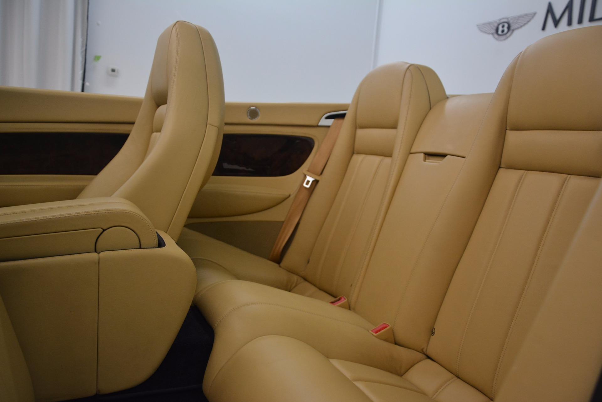 Used 2007 Bentley Continental GTC  For Sale In Westport, CT 1186_p38