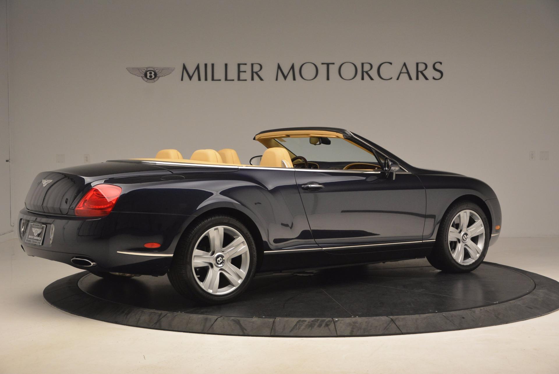Used 2007 Bentley Continental GTC  For Sale In Westport, CT 1186_p8