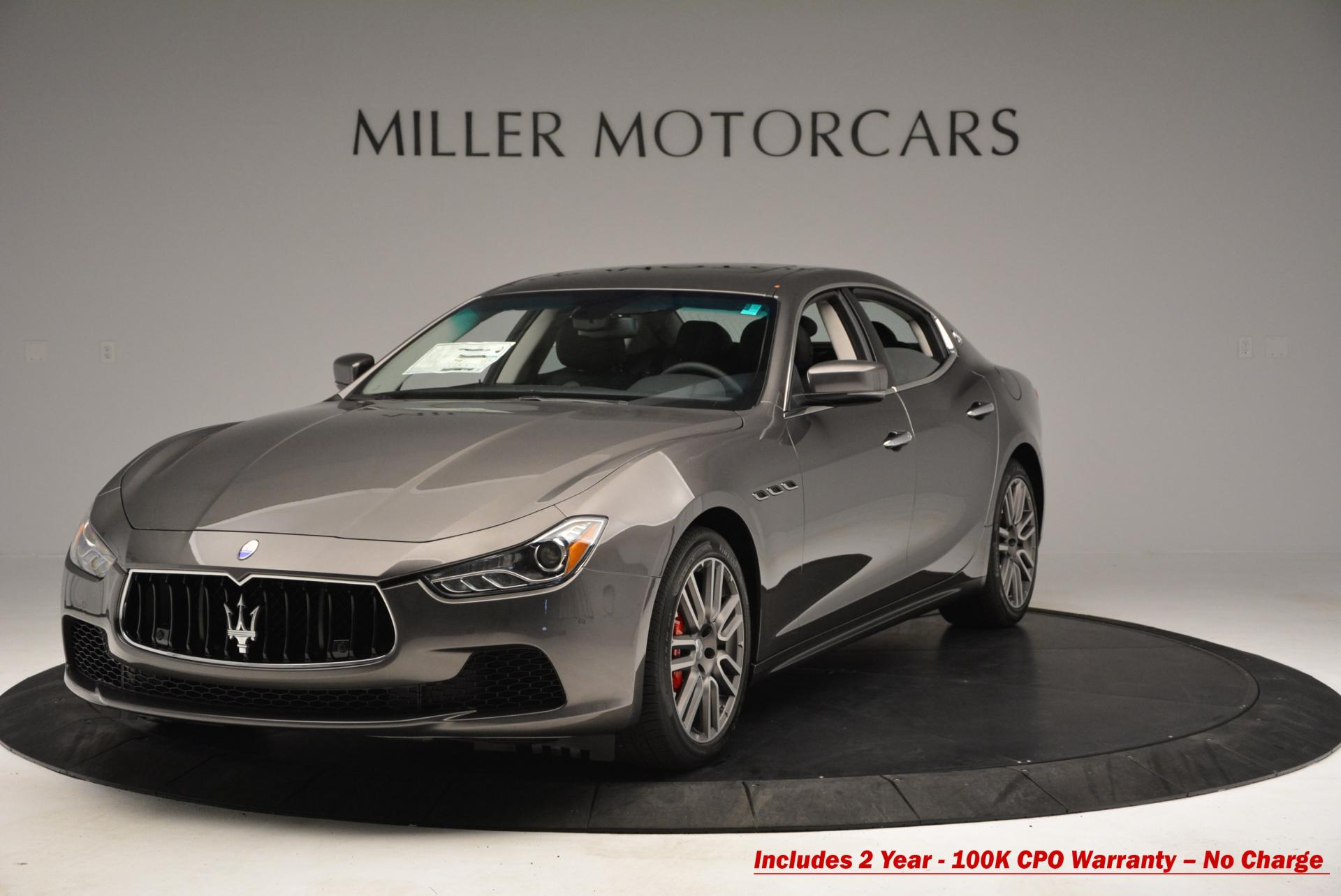 Used 2015 Maserati Ghibli S Q4 For Sale In Westport, CT 119_main