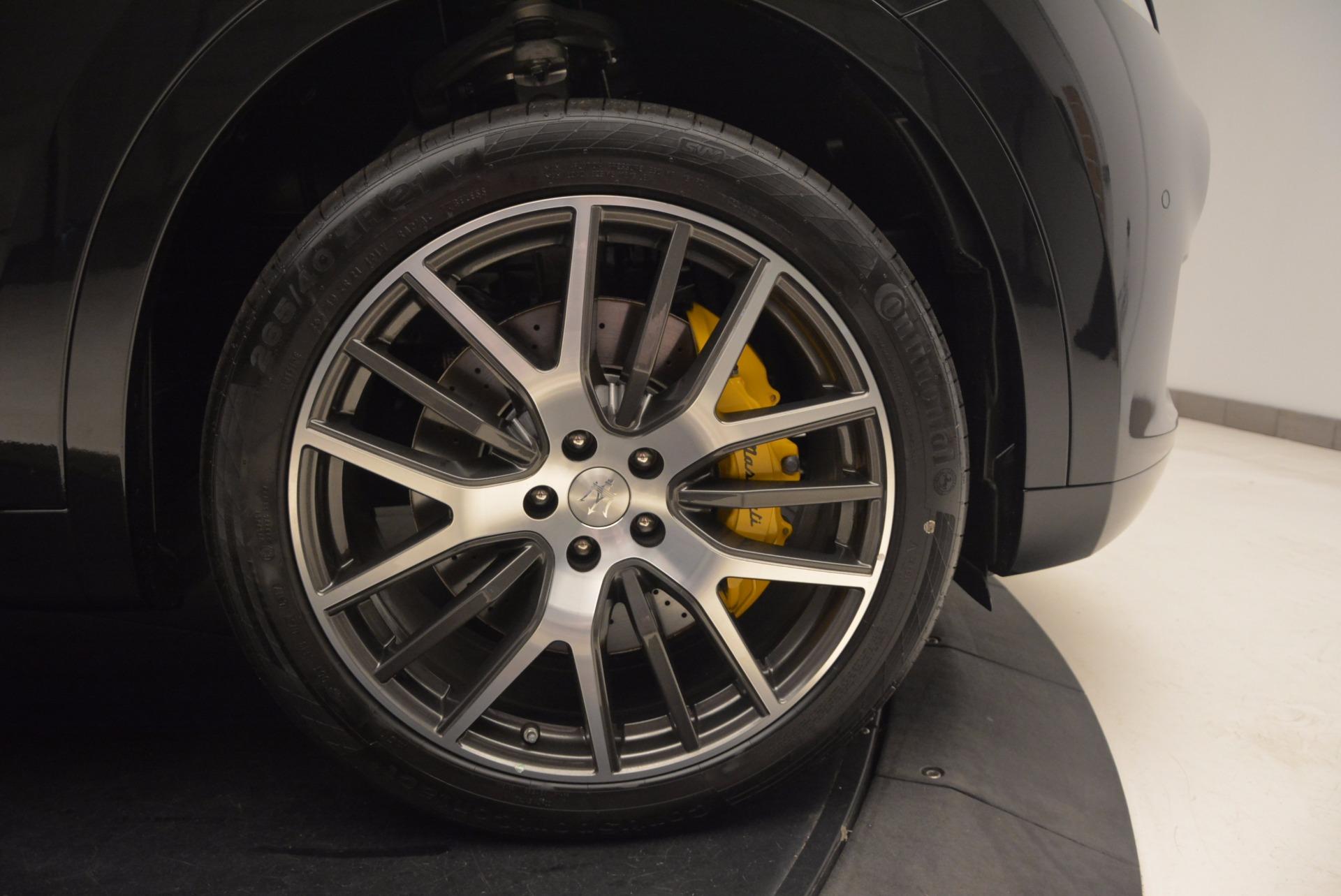 New 2017 Maserati Levante S For Sale In Westport, CT 1215_p25