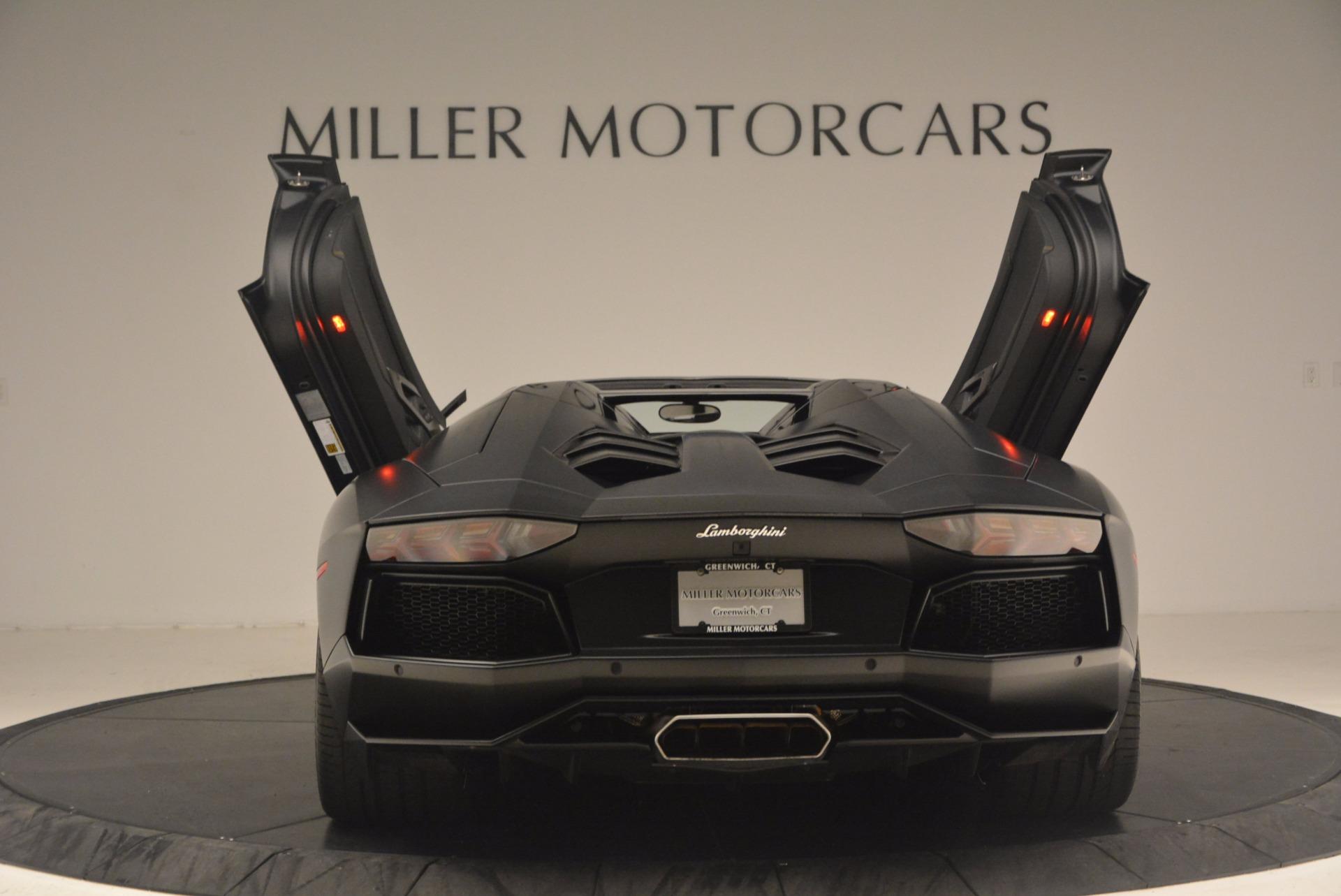 Used 2015 Lamborghini Aventador LP 700-4 For Sale In Westport, CT 1217_p15