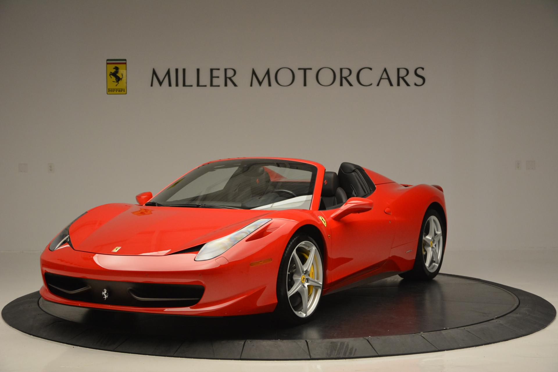 Used 2014 Ferrari 458 Spider  For Sale In Westport, CT 122_main