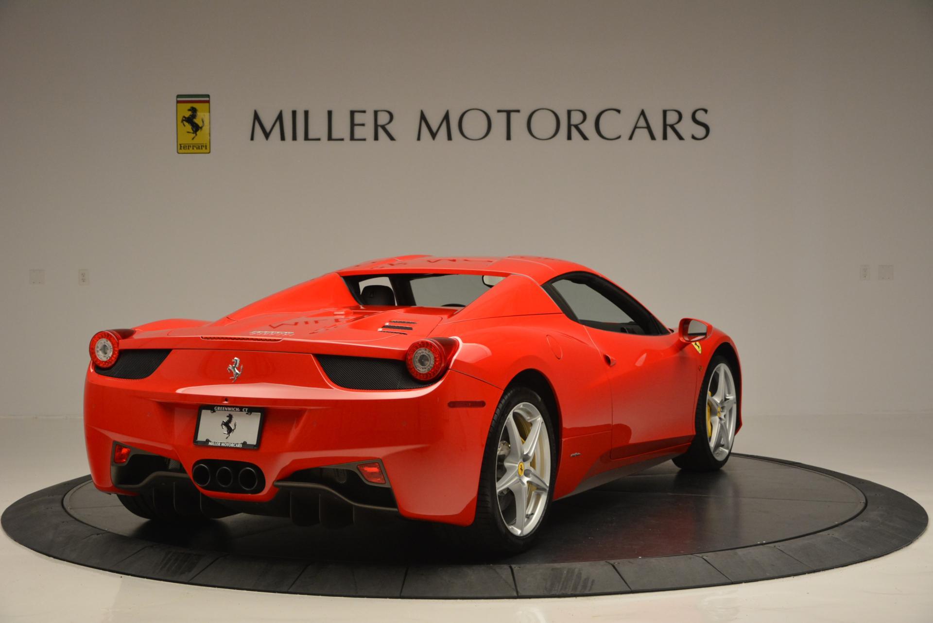 Used 2014 Ferrari 458 Spider  For Sale In Westport, CT 122_p19
