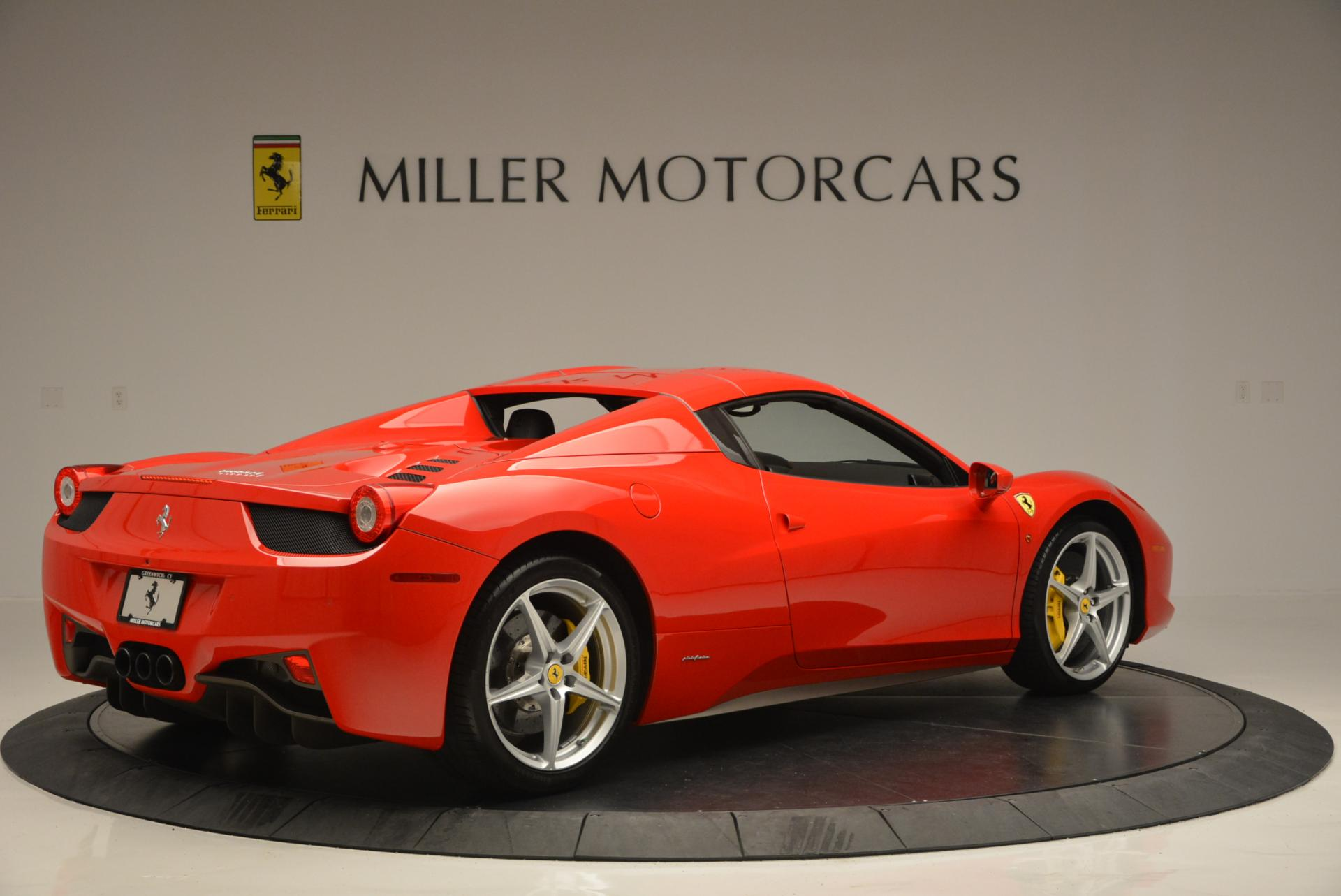 Used 2014 Ferrari 458 Spider  For Sale In Westport, CT 122_p20