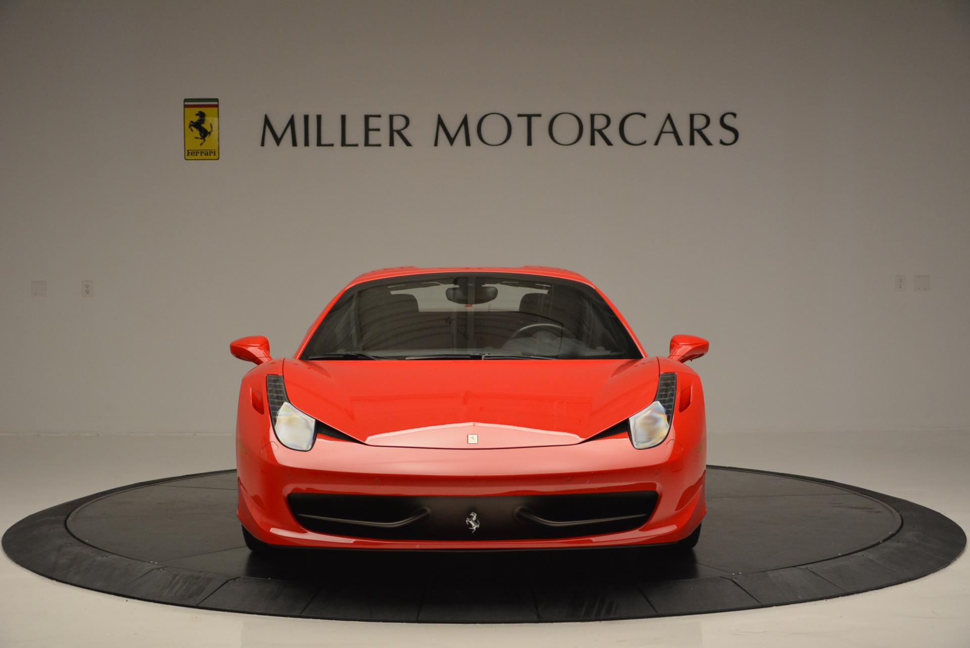 Used 2014 Ferrari 458 Spider  For Sale In Westport, CT 122_p24