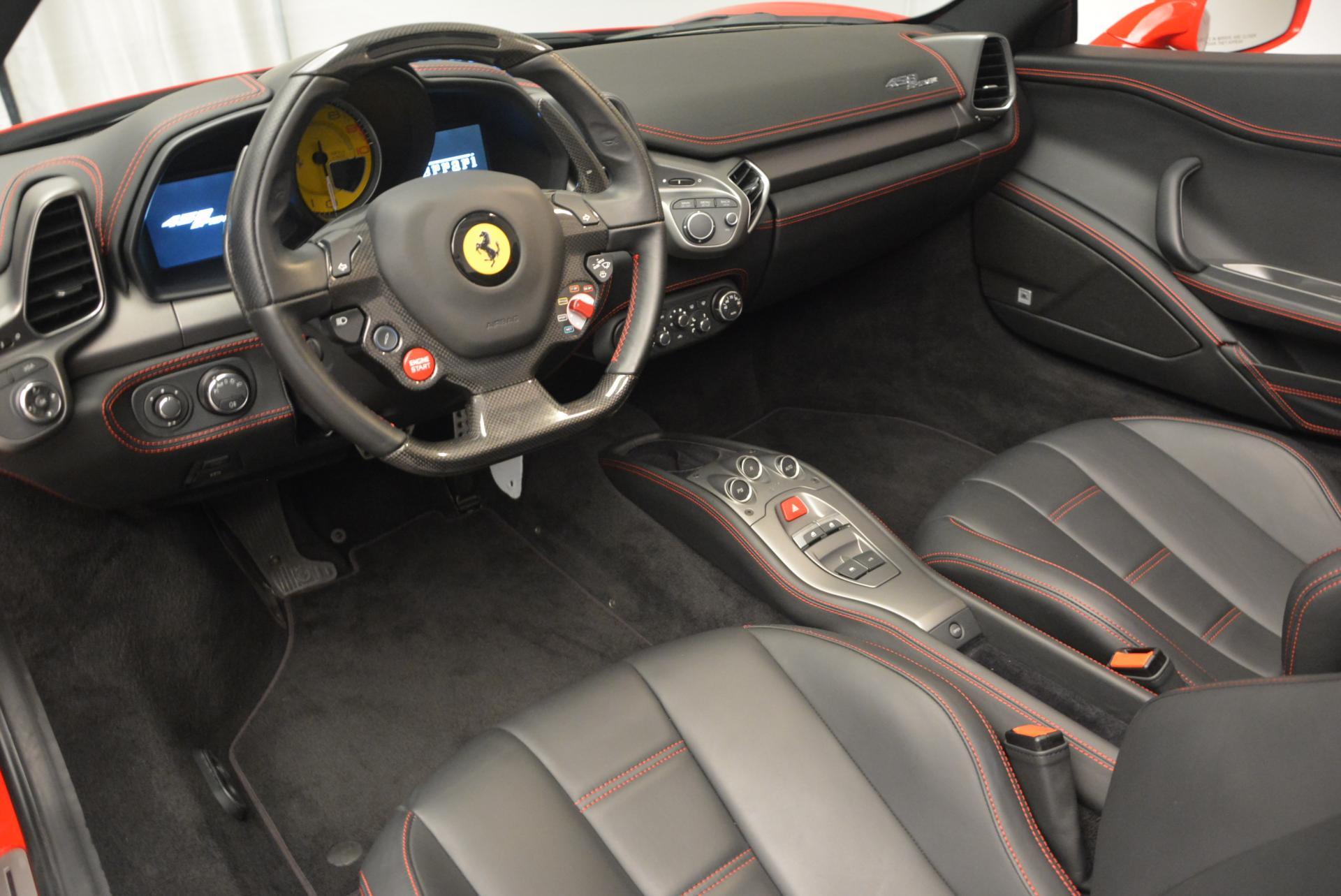 Used 2014 Ferrari 458 Spider  For Sale In Westport, CT 122_p25