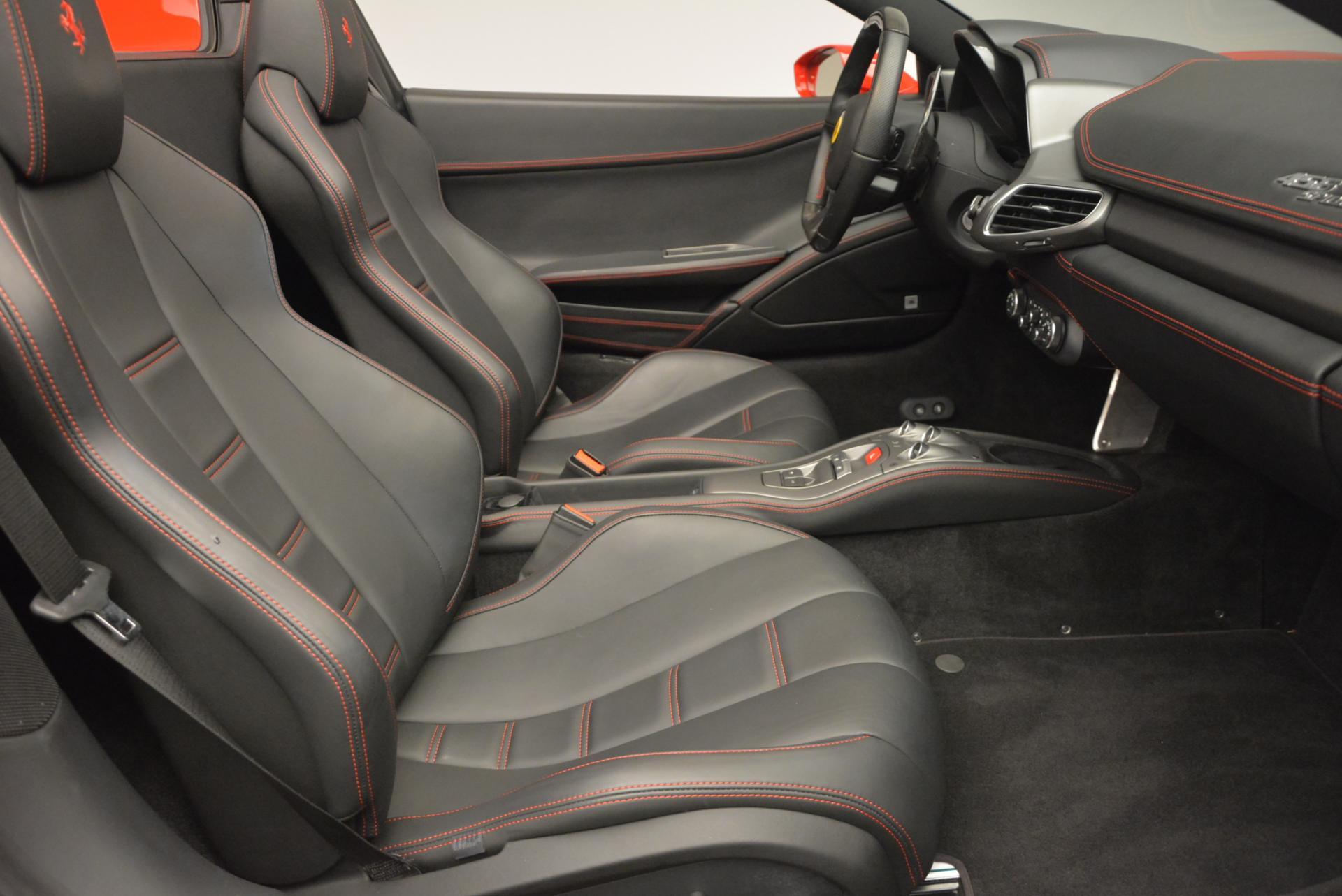 Used 2014 Ferrari 458 Spider  For Sale In Westport, CT 122_p30