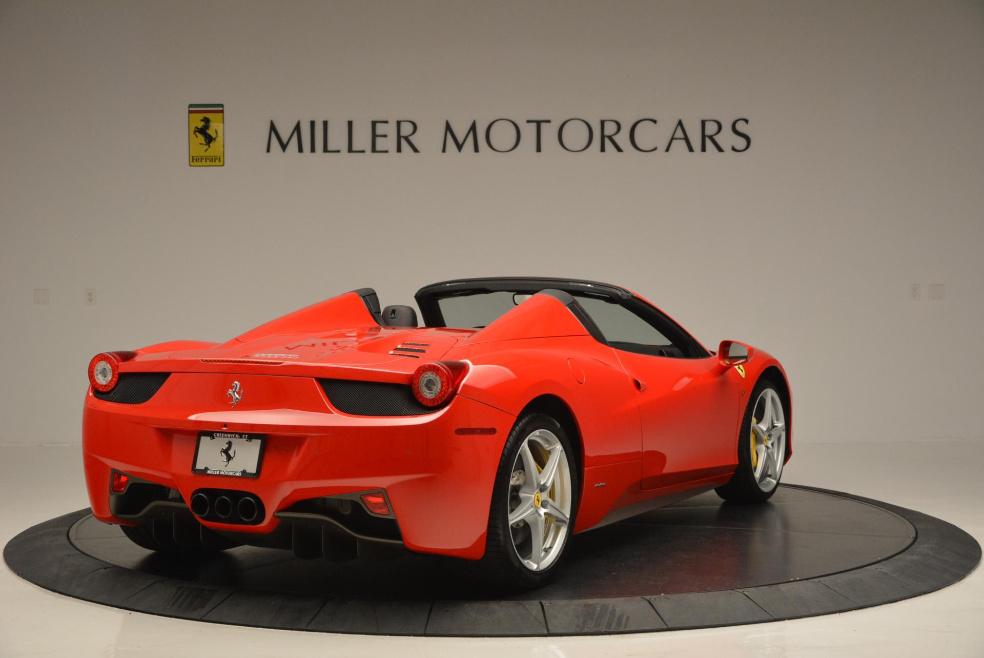 Used 2014 Ferrari 458 Spider  For Sale In Westport, CT 122_p7