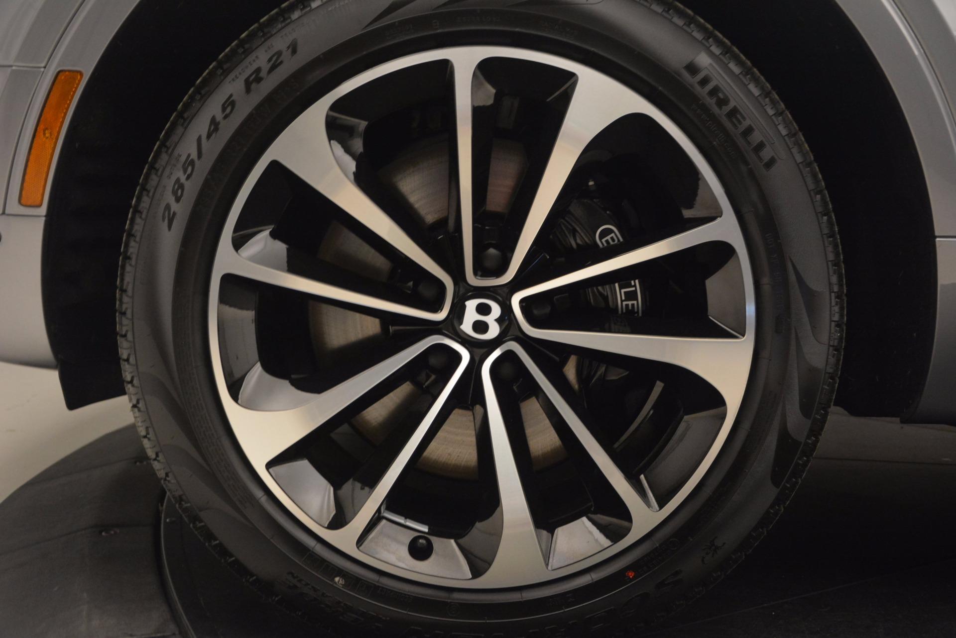 New 2018 Bentley Bentayga Onyx For Sale In Westport, CT 1220_p18