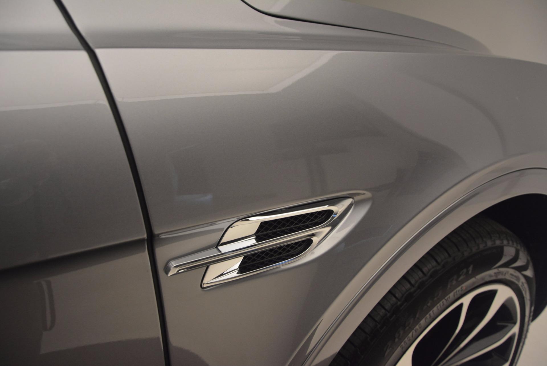 New 2018 Bentley Bentayga Onyx For Sale In Westport, CT 1220_p19