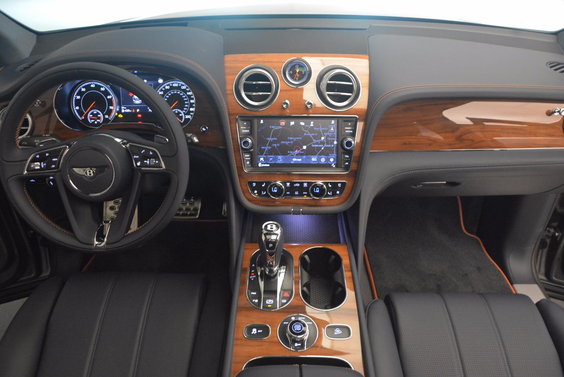 New 2018 Bentley Bentayga Onyx For Sale In Westport, CT 1220_p42