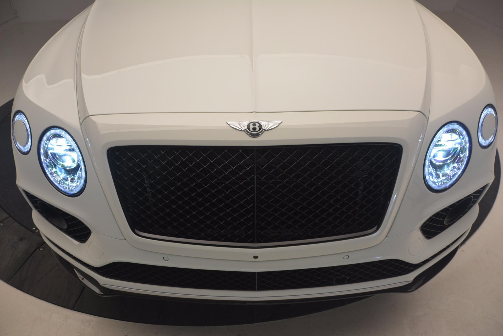 New 2018 Bentley Bentayga Black Edition For Sale In Westport, CT 1221_p14