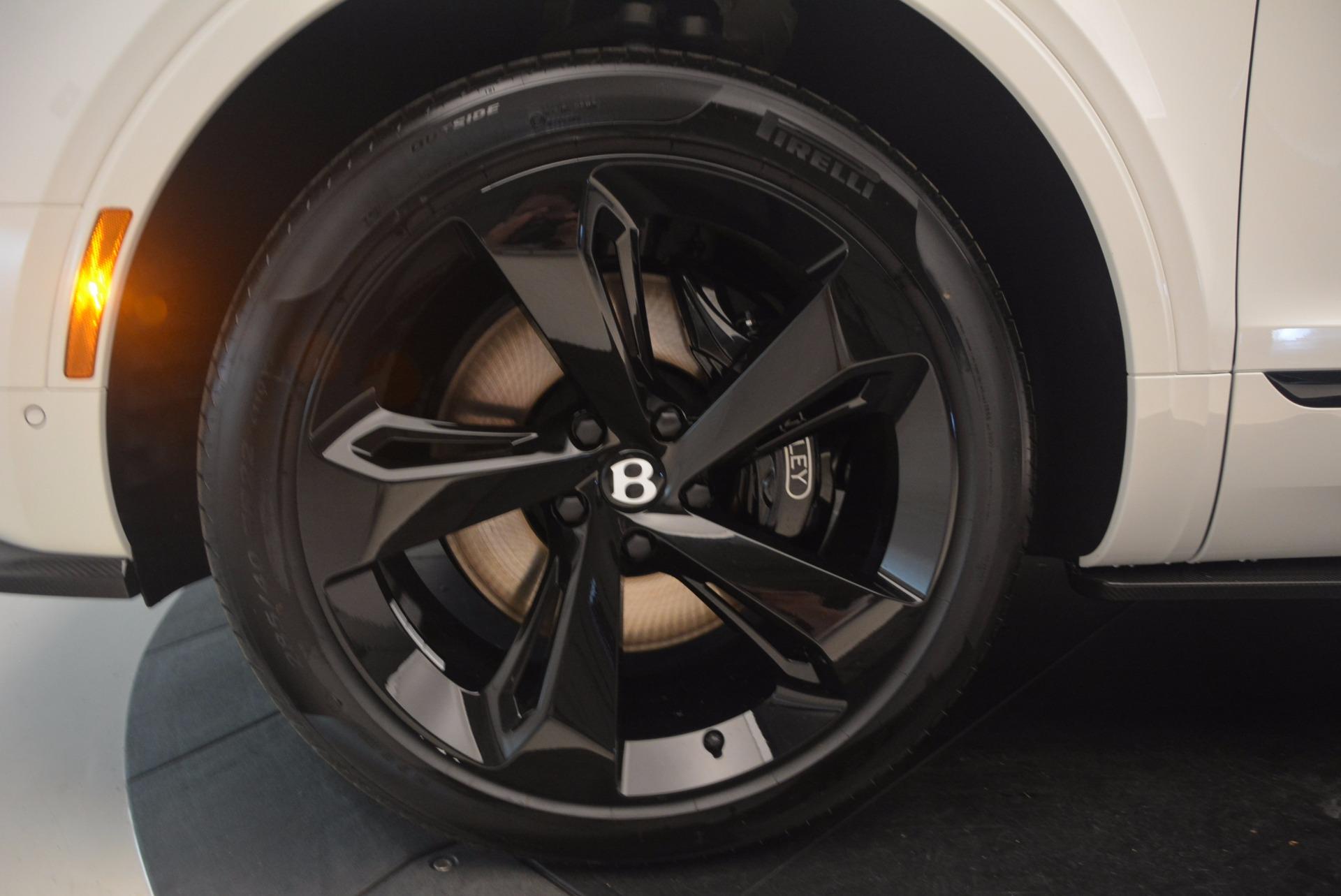 New 2018 Bentley Bentayga Black Edition For Sale In Westport, CT 1221_p25