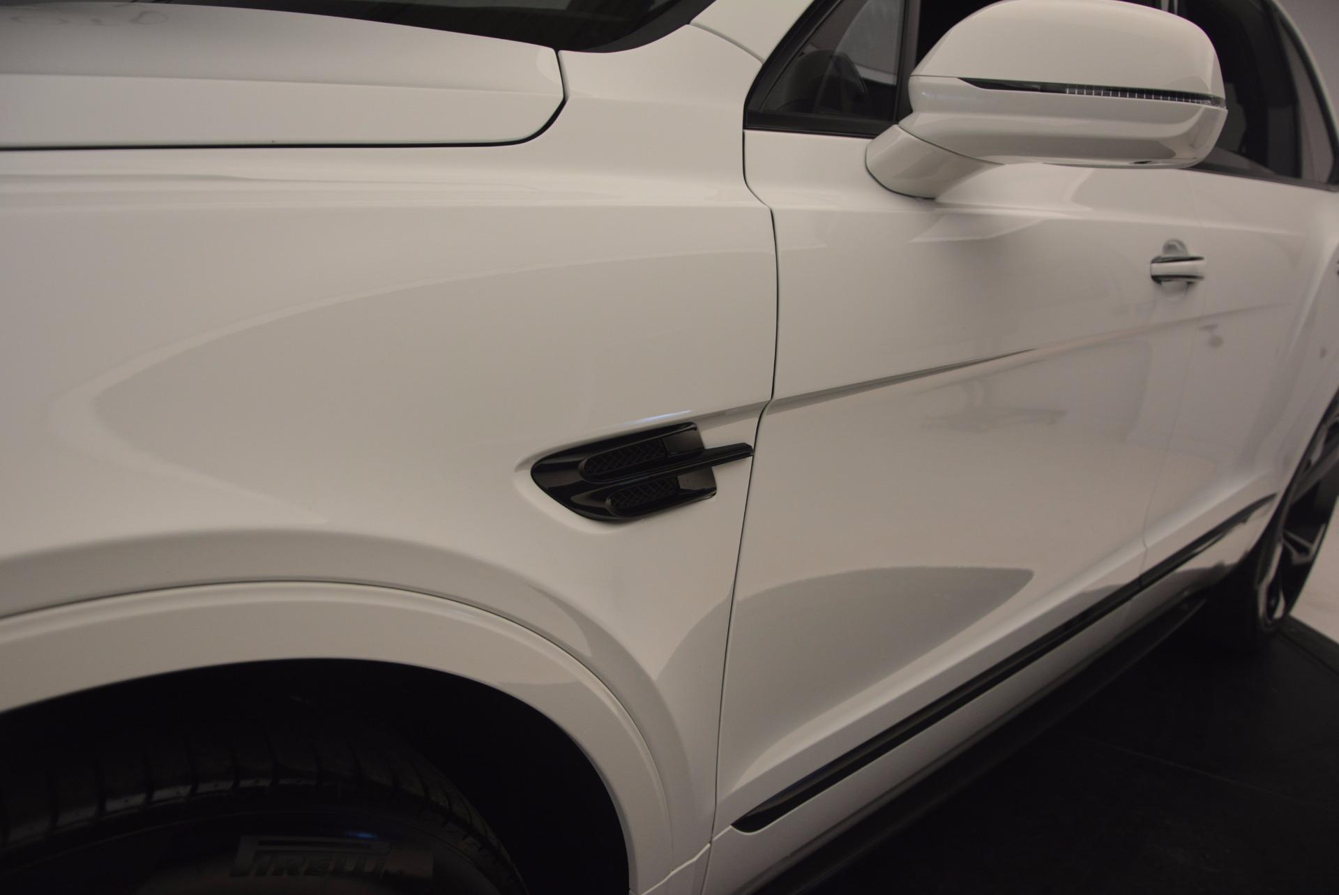New 2018 Bentley Bentayga Black Edition For Sale In Westport, CT 1221_p26